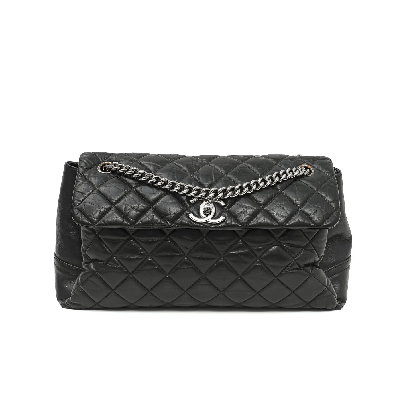 Chanel Black Lady Pearly Flap Bag
