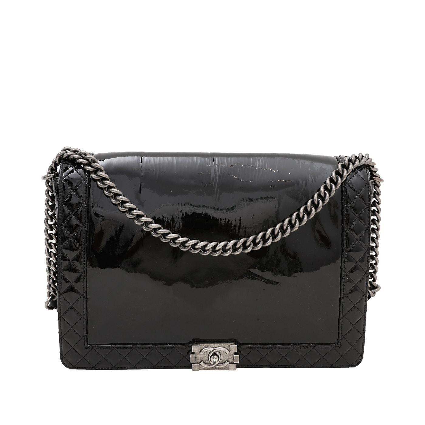 Chanel Black Le Boy Bag XL