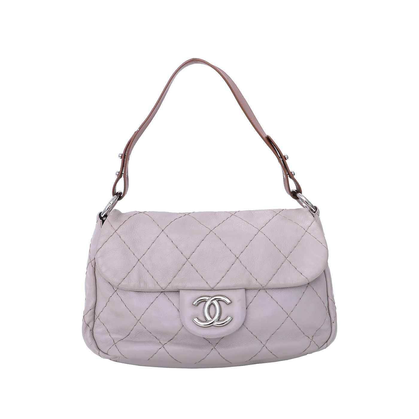 Chanel Bicolor On The Road Flap Bag
