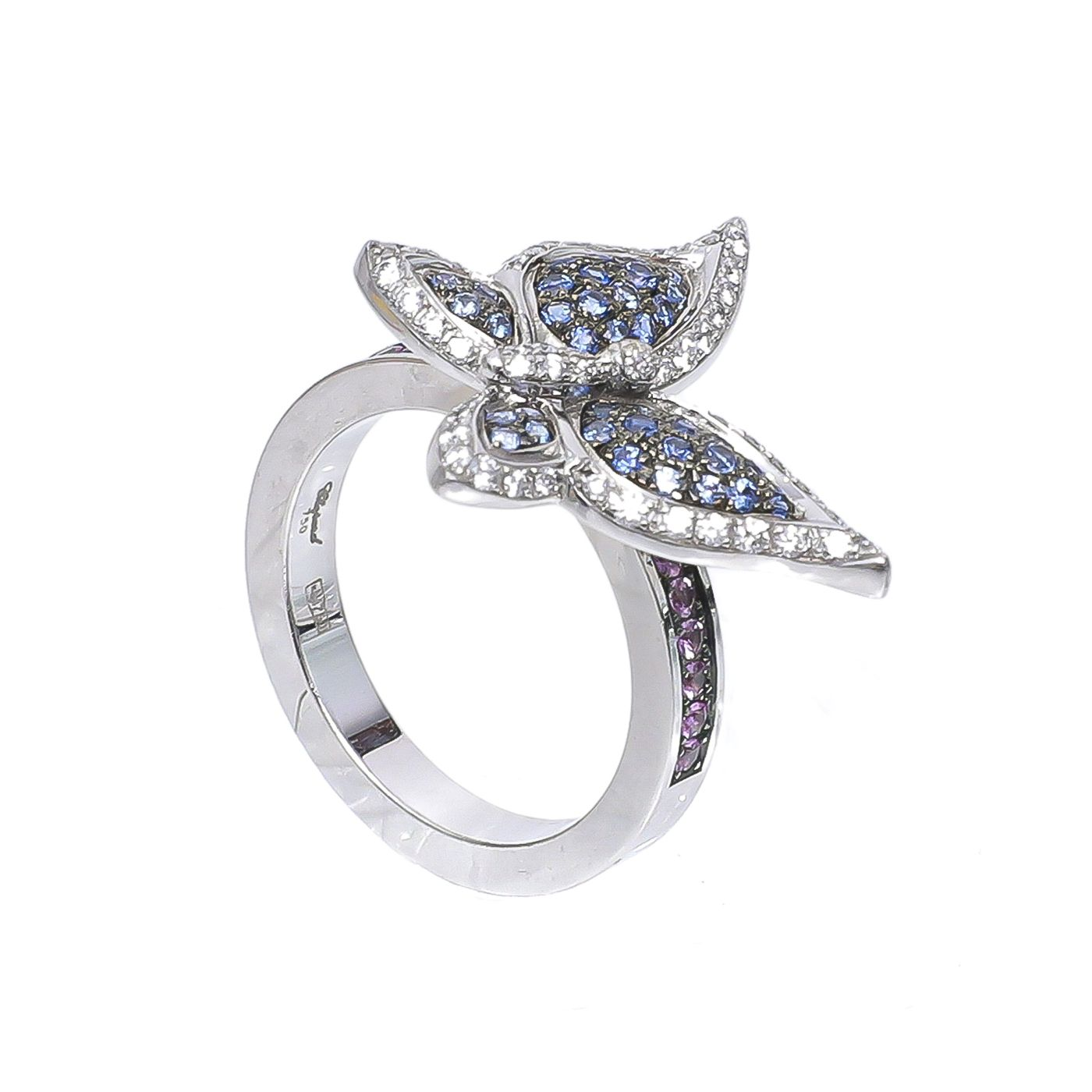 Chopard White Gold Butterfly W/ Diamonds Ring