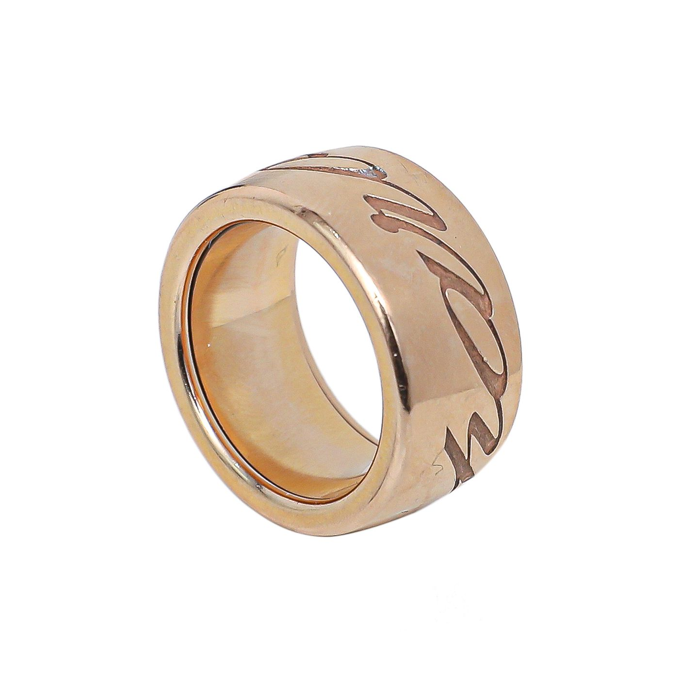 Chopard 18K Rose Gold Chopardissimo Ring small