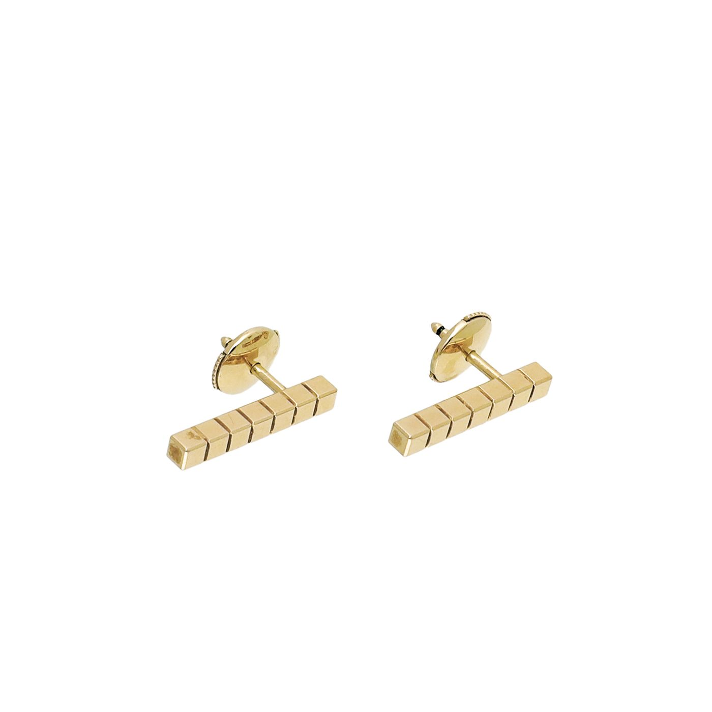 Chopard 18K Yellow Gold Ice Cube Pure Fairmined Earrings