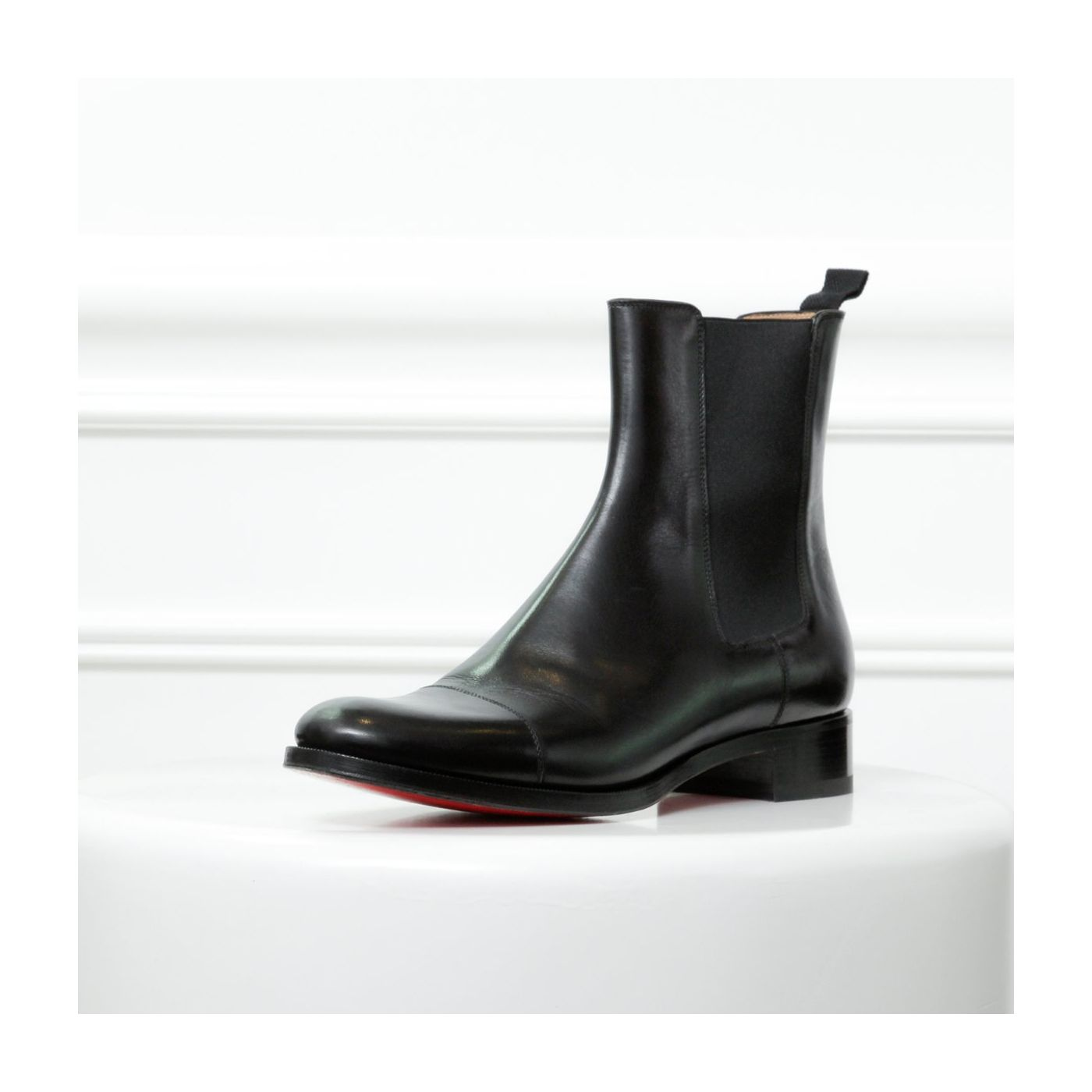 Christian Louboutin Black Ankle Boots 42 1/2