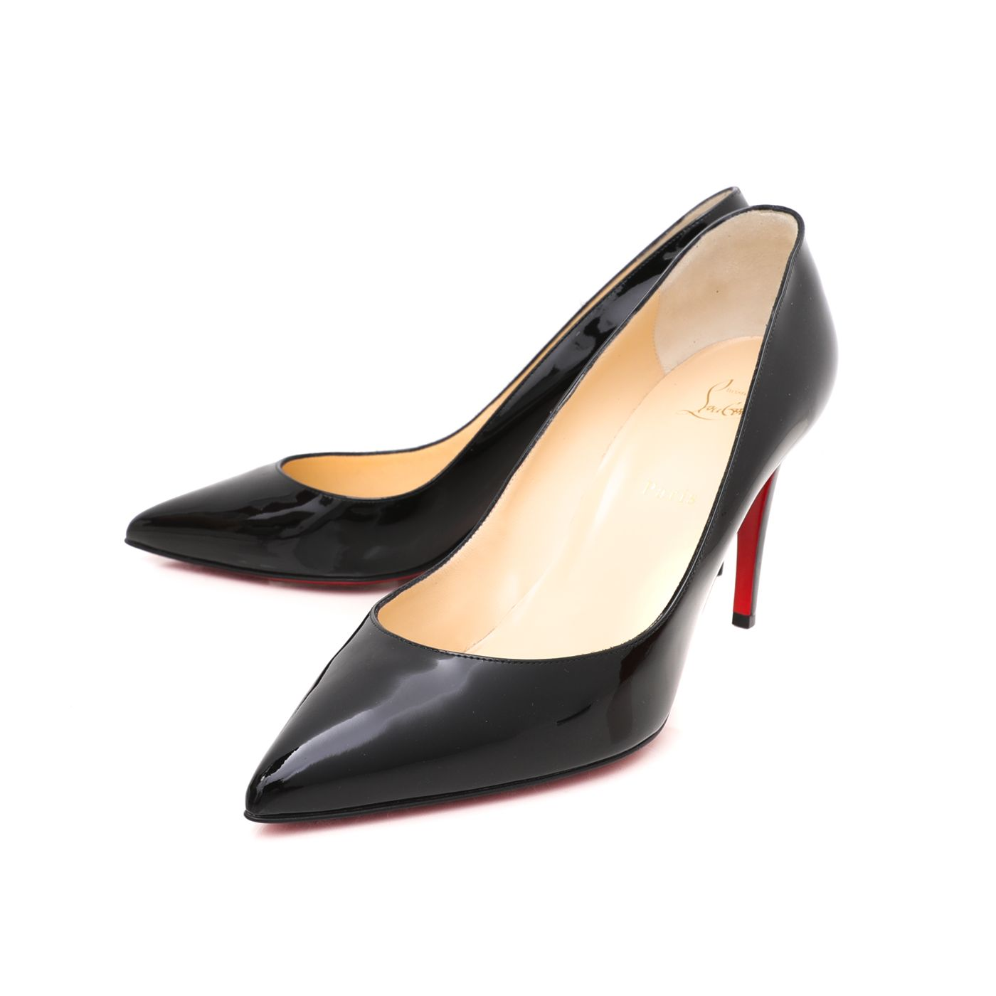 Christian Louboutin Black Pigalle 85 Pumps 42