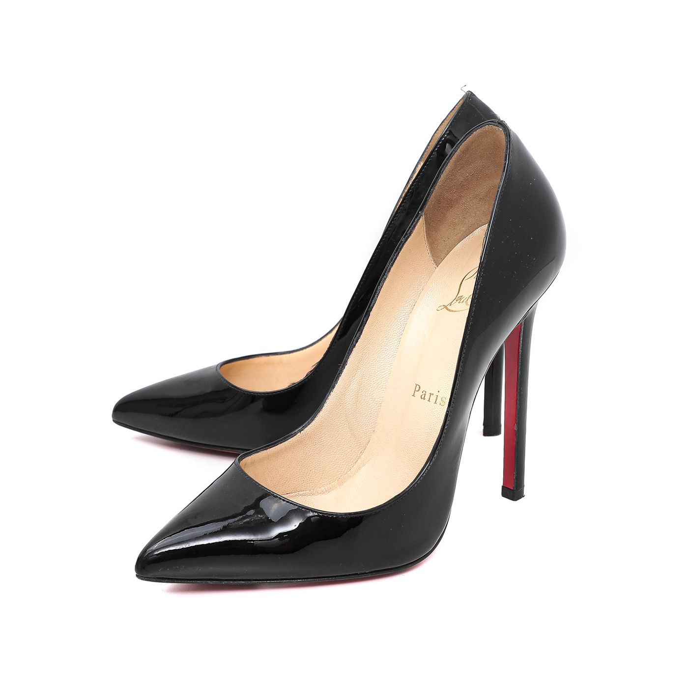 Christian Louboutin Black Pigalle 120mm 39