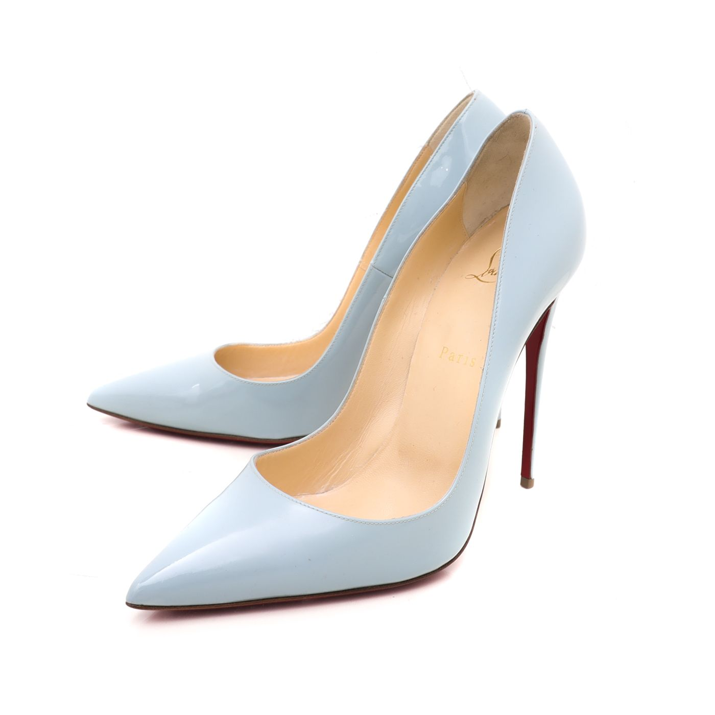 Christian Louboutin Light Blue So Kate Pumps 41