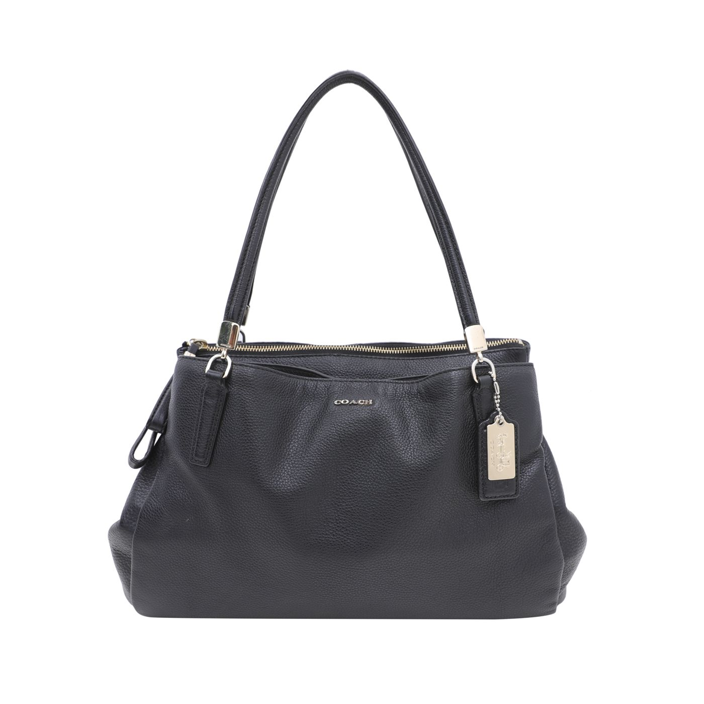 Coach Black Madison Cafe Carryall In Bag