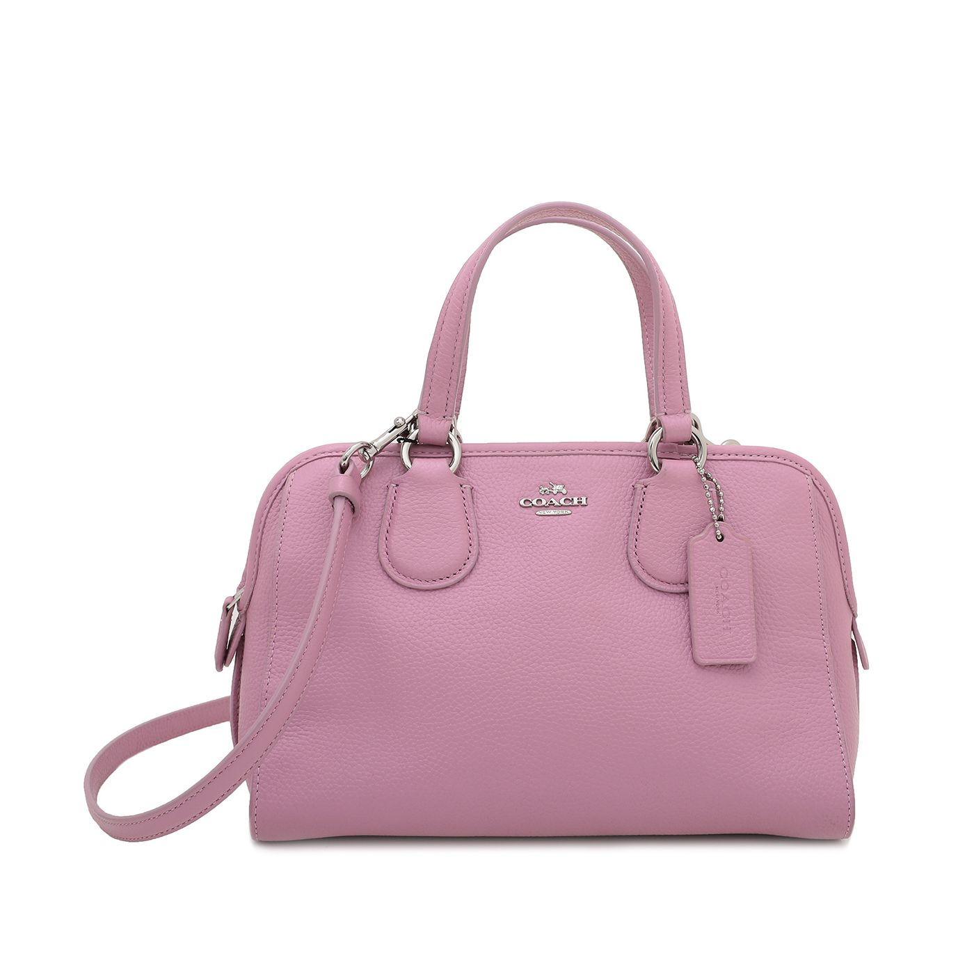 Coach Pink Small Satchel Bag