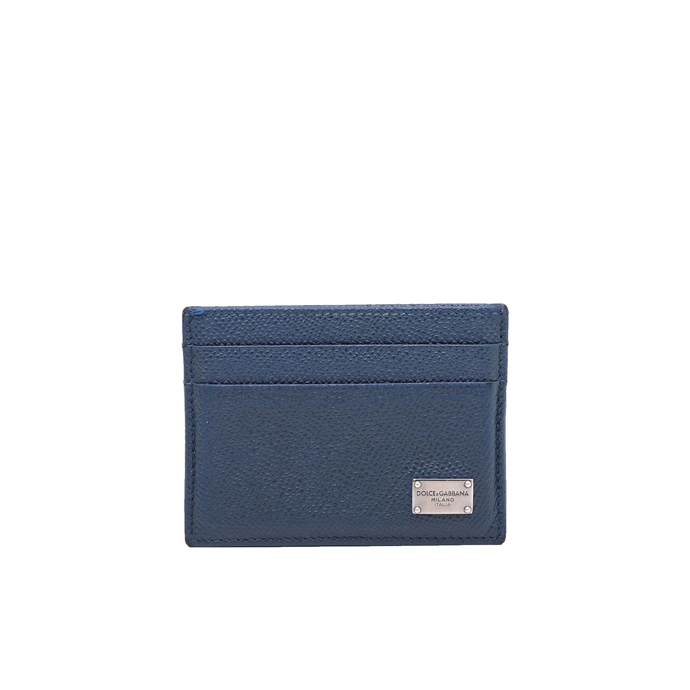 Dolce & Gabbana Blue Marine Dauphine Credit Card Holder