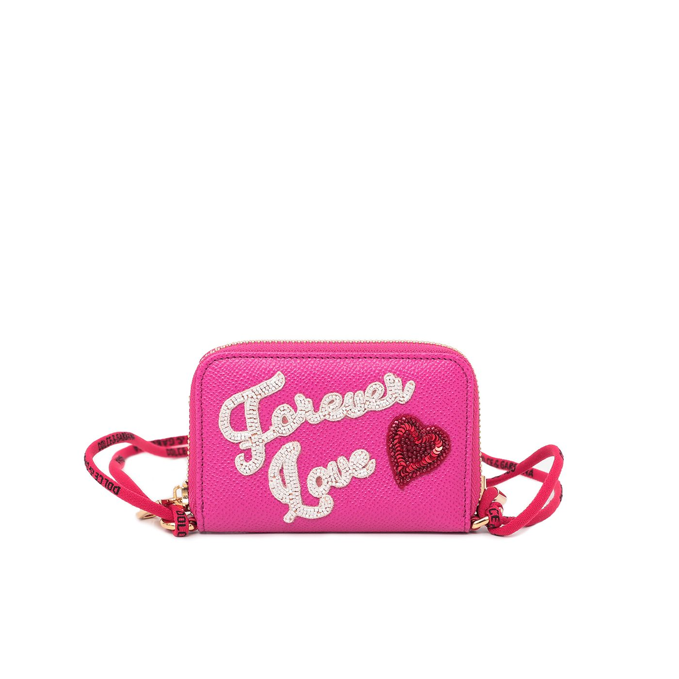 Dolce & Gabbana Pink Forever Love Coin Purse