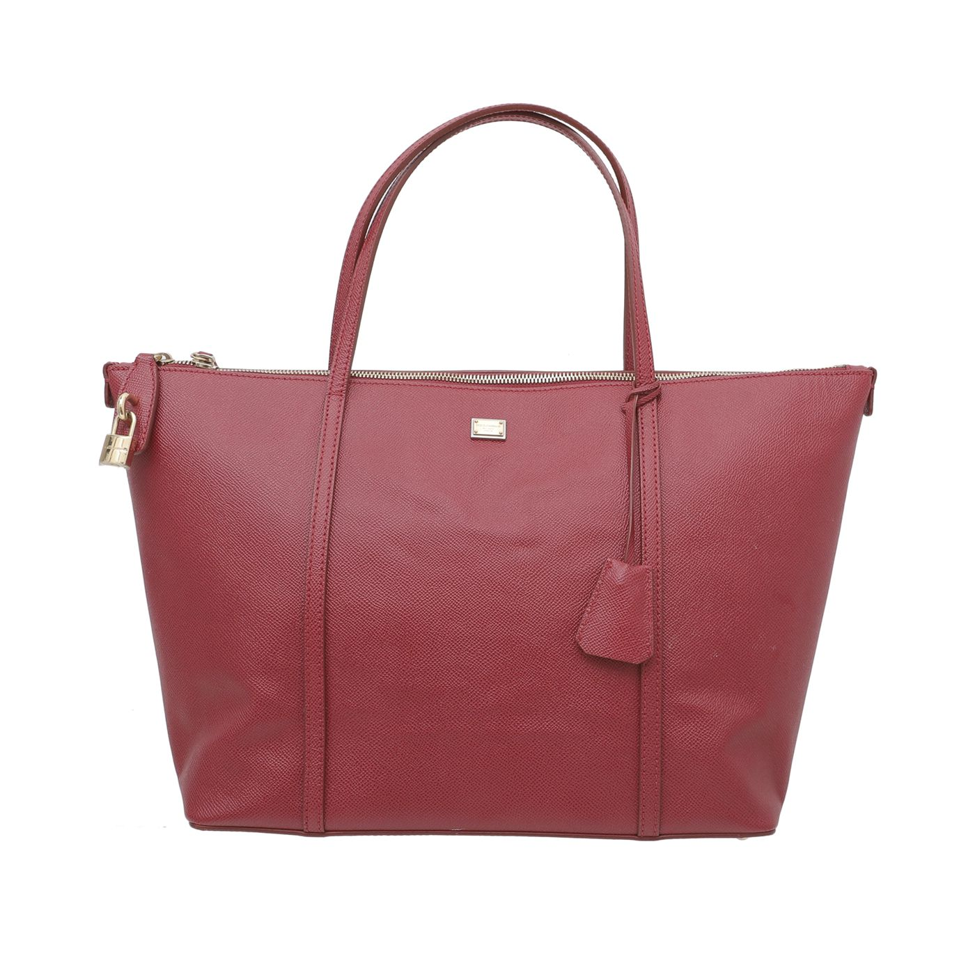 Dolce & Gabbana Red Dauphine Miss Escape Tote Bag