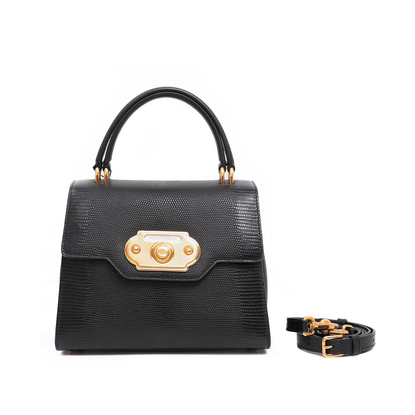 Dolce & Gabbana Black Welcome Small