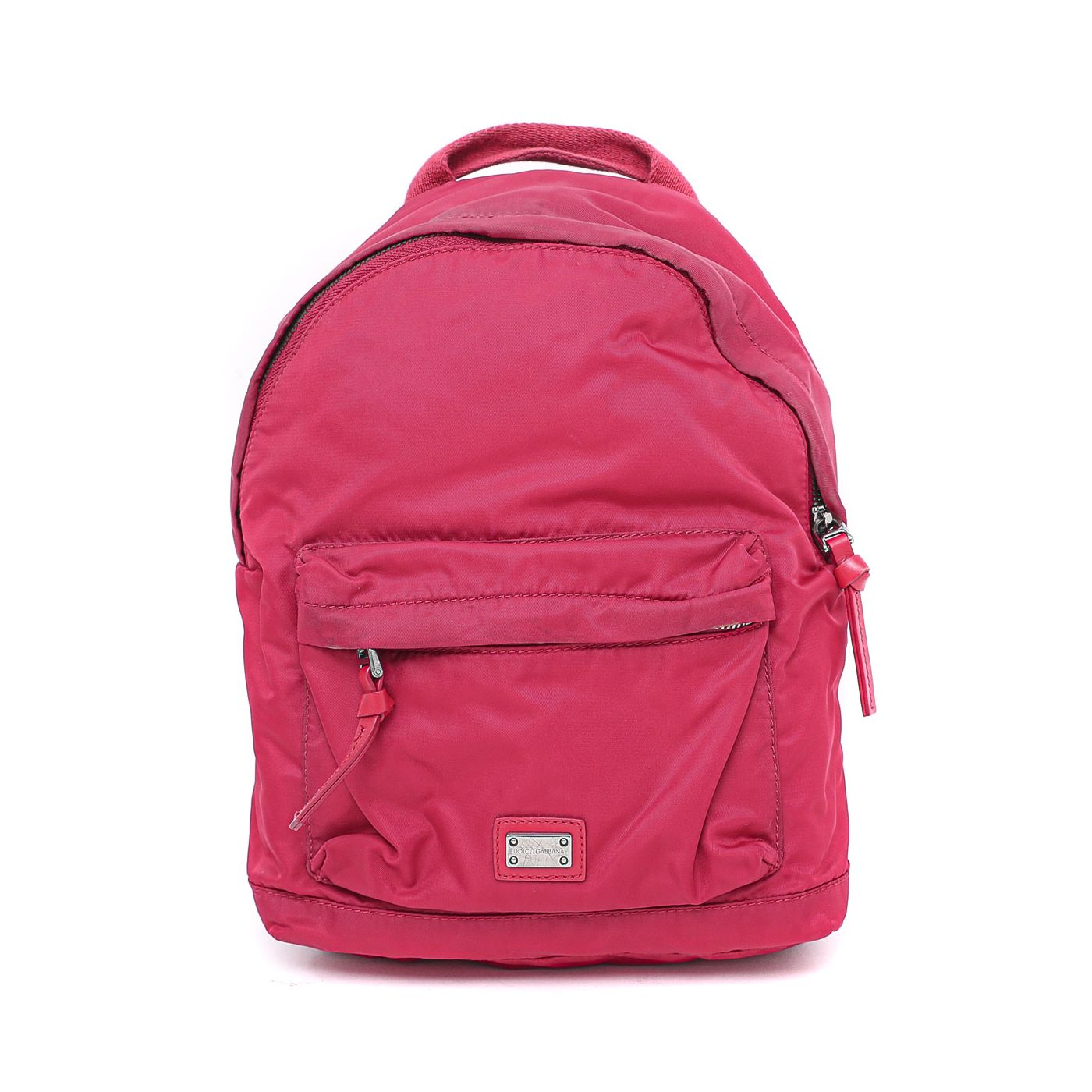 Dolce & Gabbana Red Small Backpack