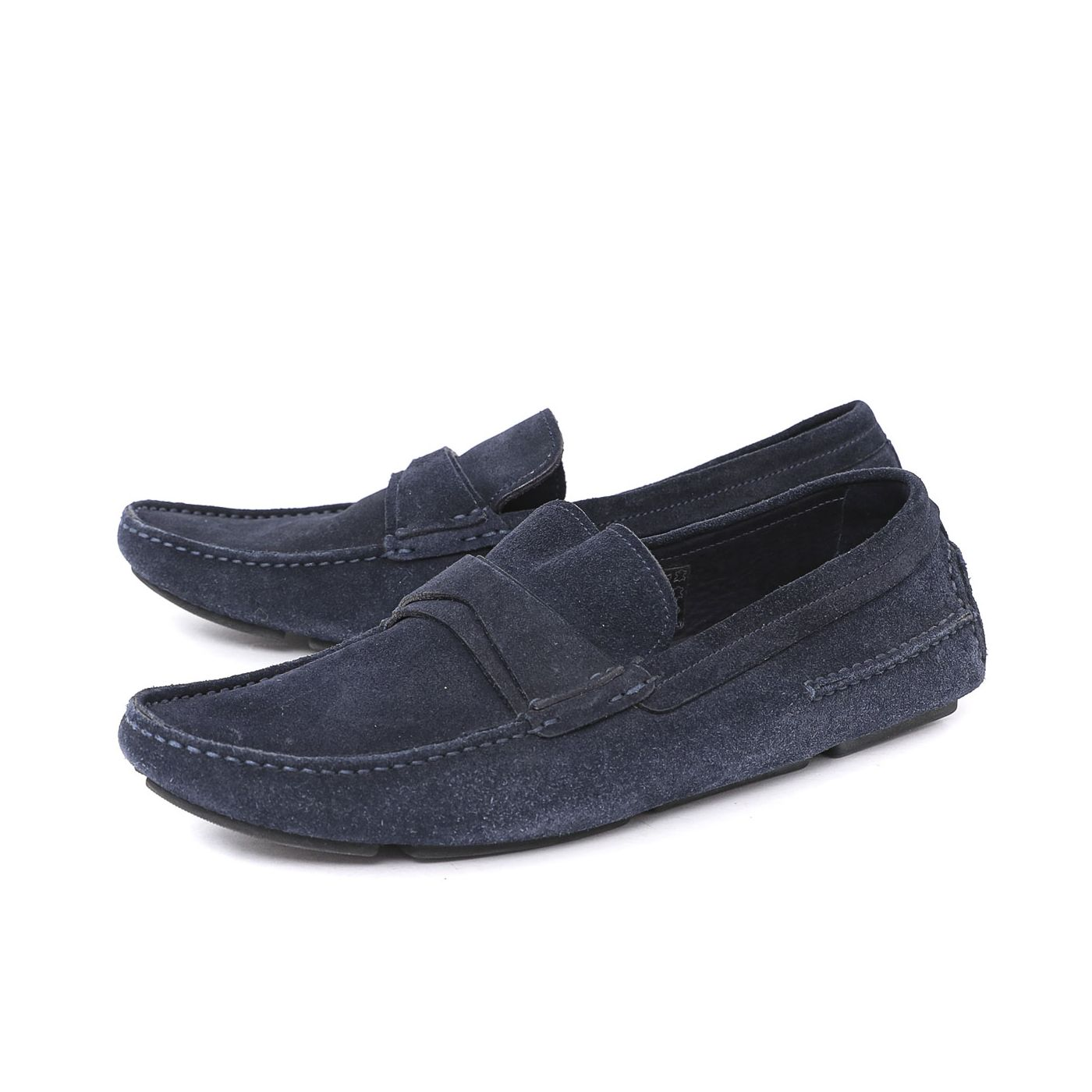 Christian Dior Dark Blue Mens Loafers 41