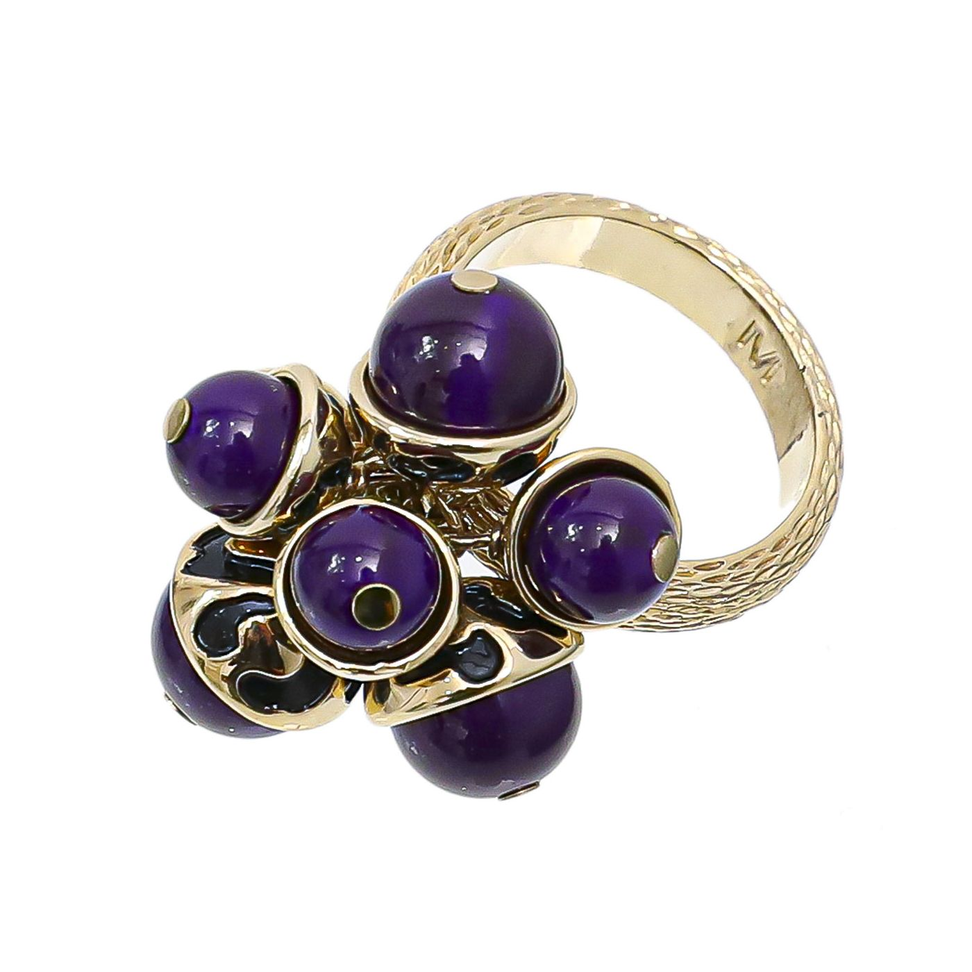 Christian Dior Purple Miss Dior Ring M