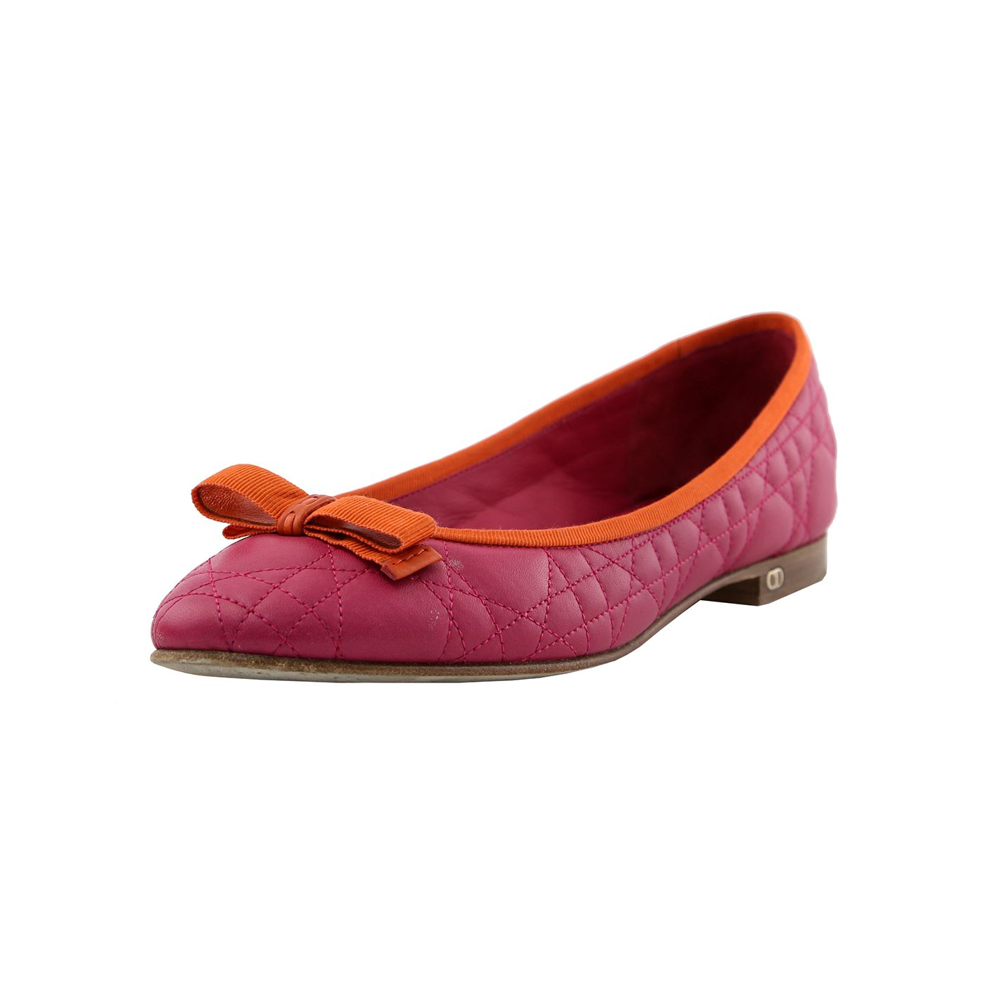 Christian Dior Bicolor Ow Flats 41