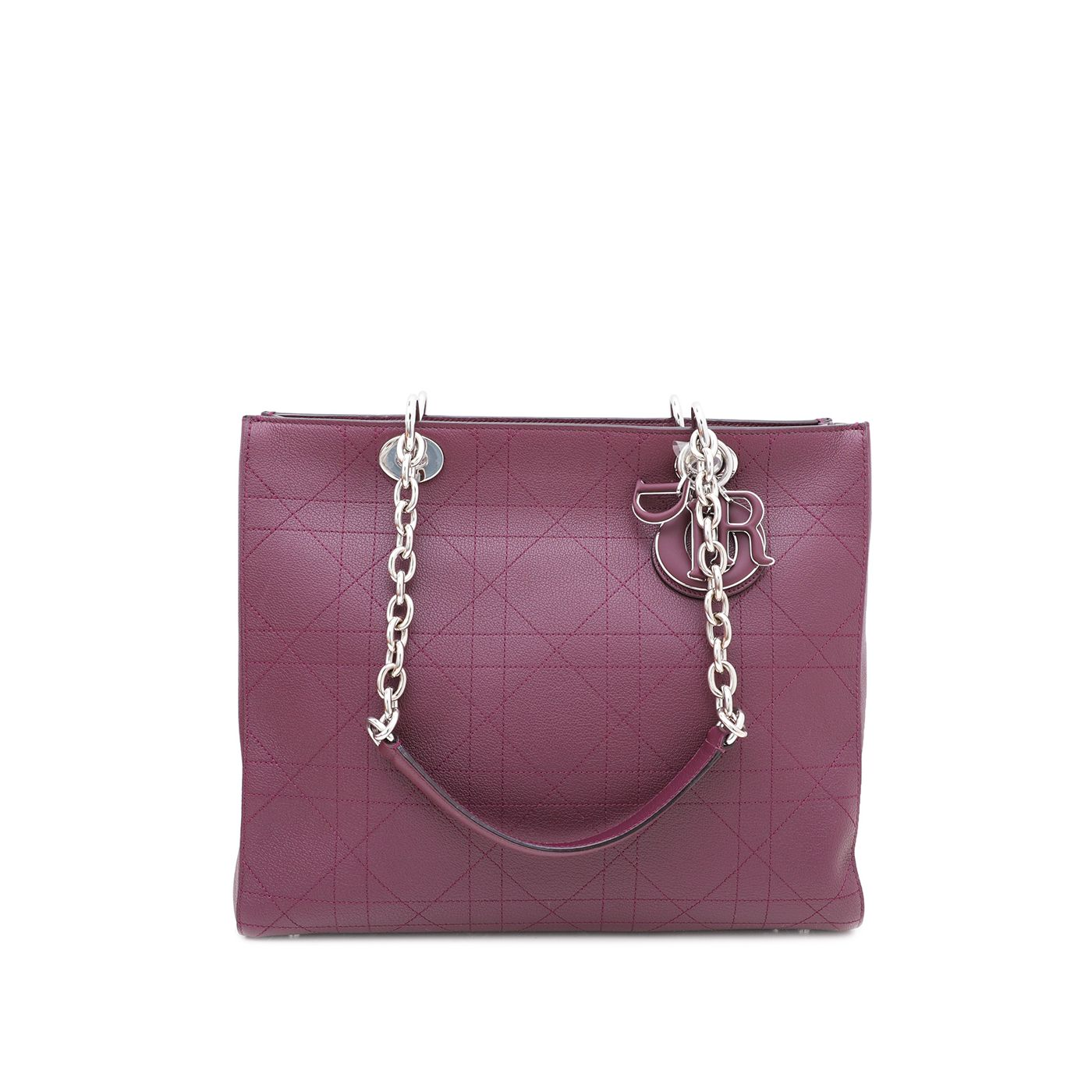 Christian Dior Violet Ultradior Tote Bag