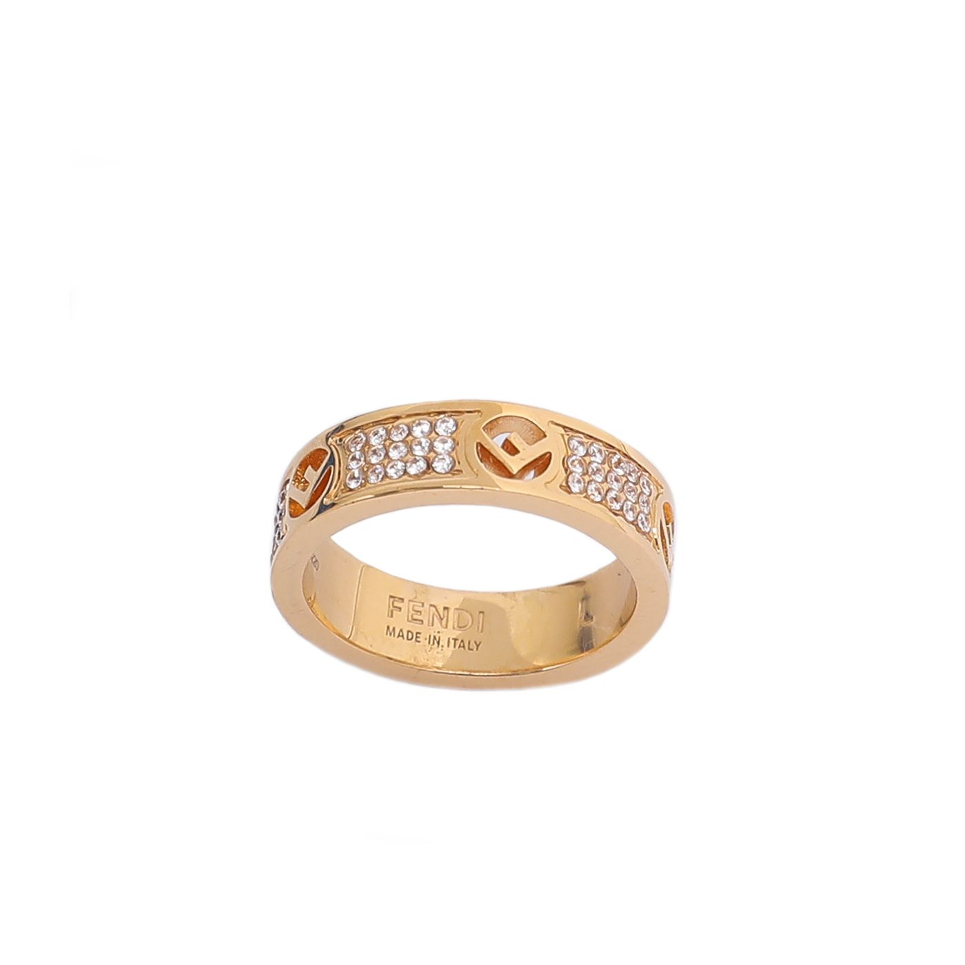 Fendi Gold F Is Fendi Large Ring