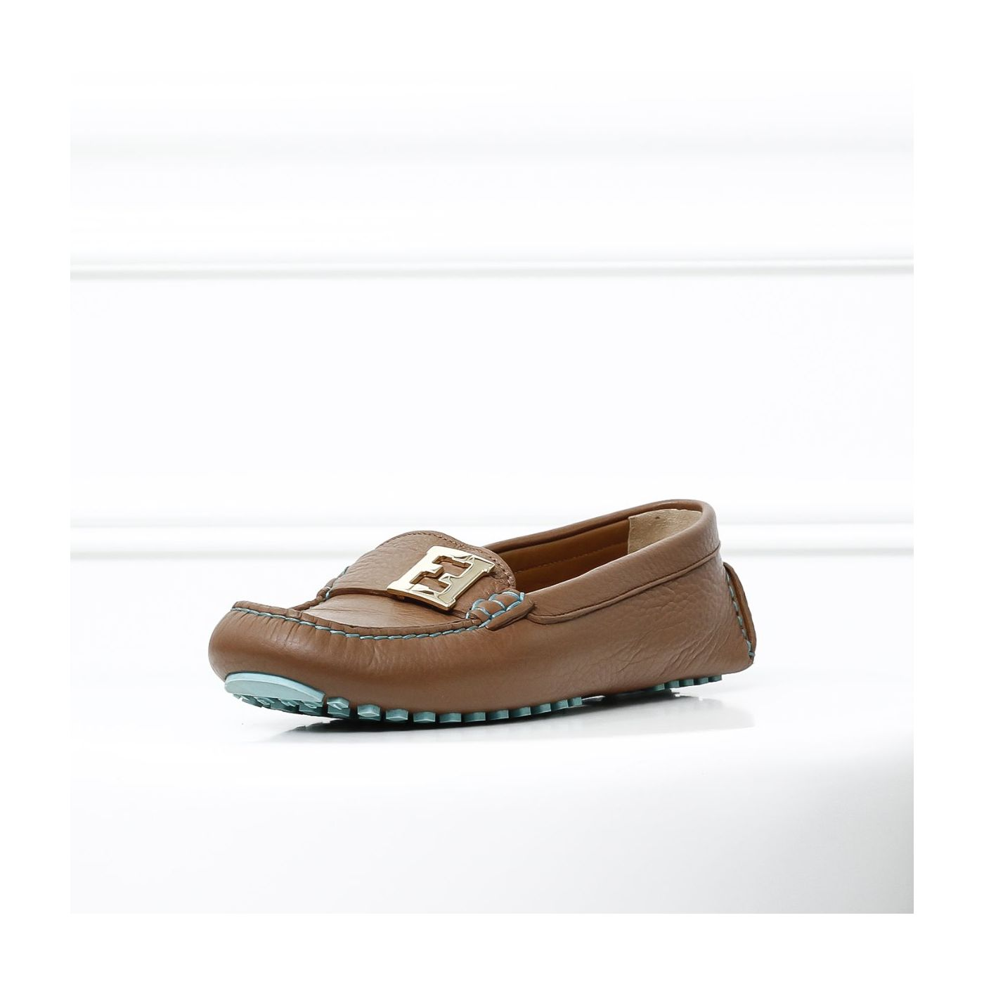 Fendi Brown Loafers 37