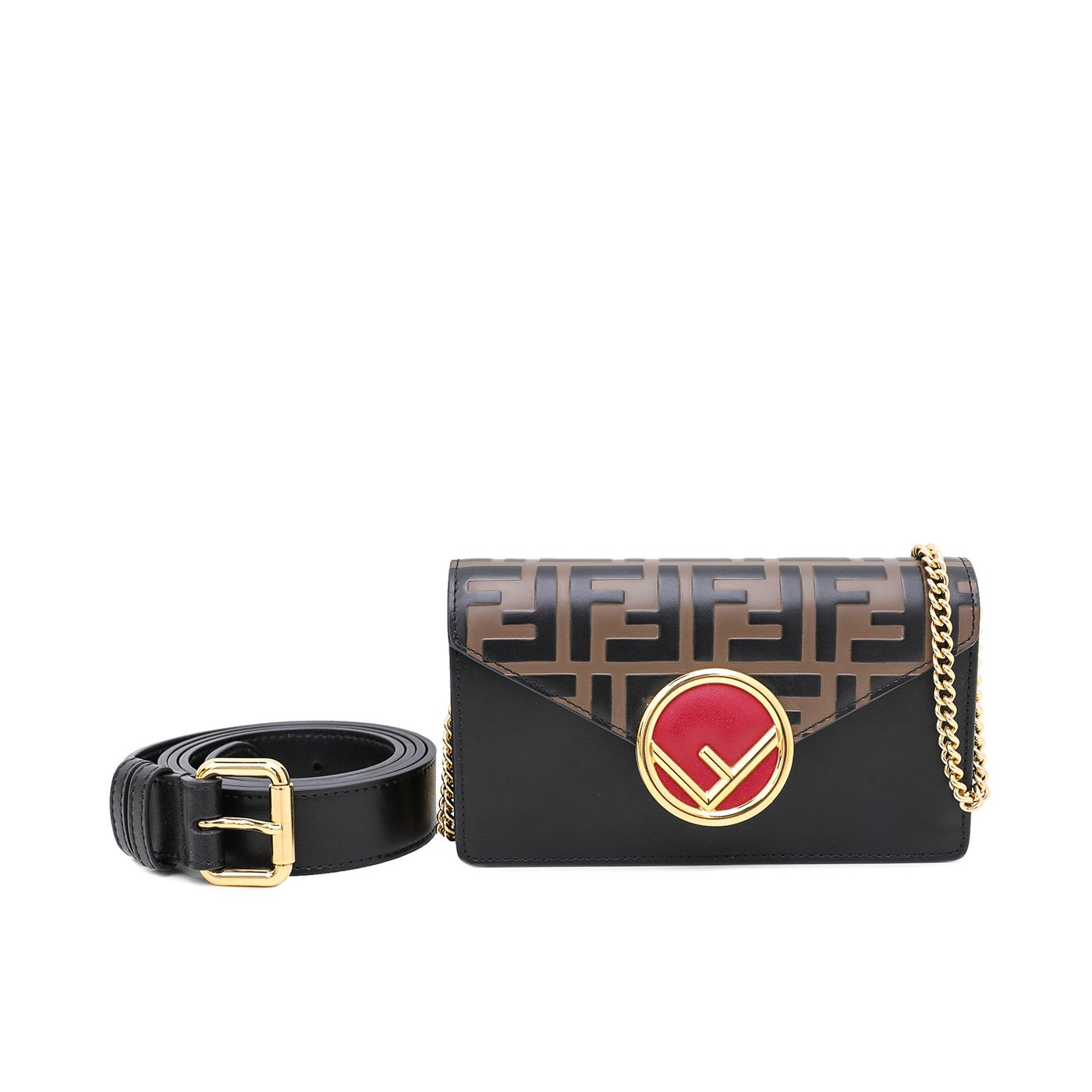 Fendi Multicolor Belt Bag