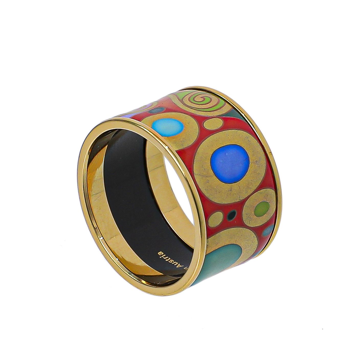 Frey Wille Gold Tone Diva Ring 62