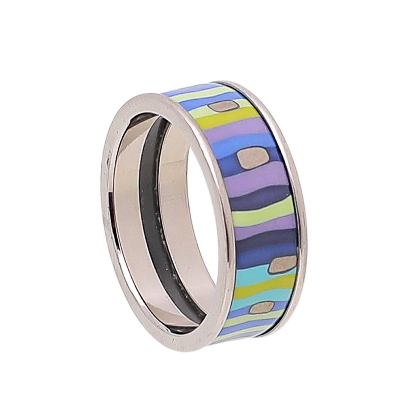 Frey Wille Multicolor Spiral Of Life Ring