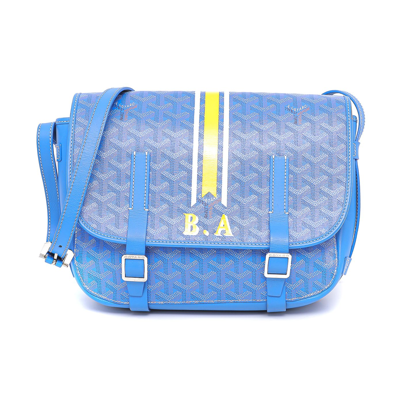 Goyard Multicolor Belvedere Messenger Bag MM
