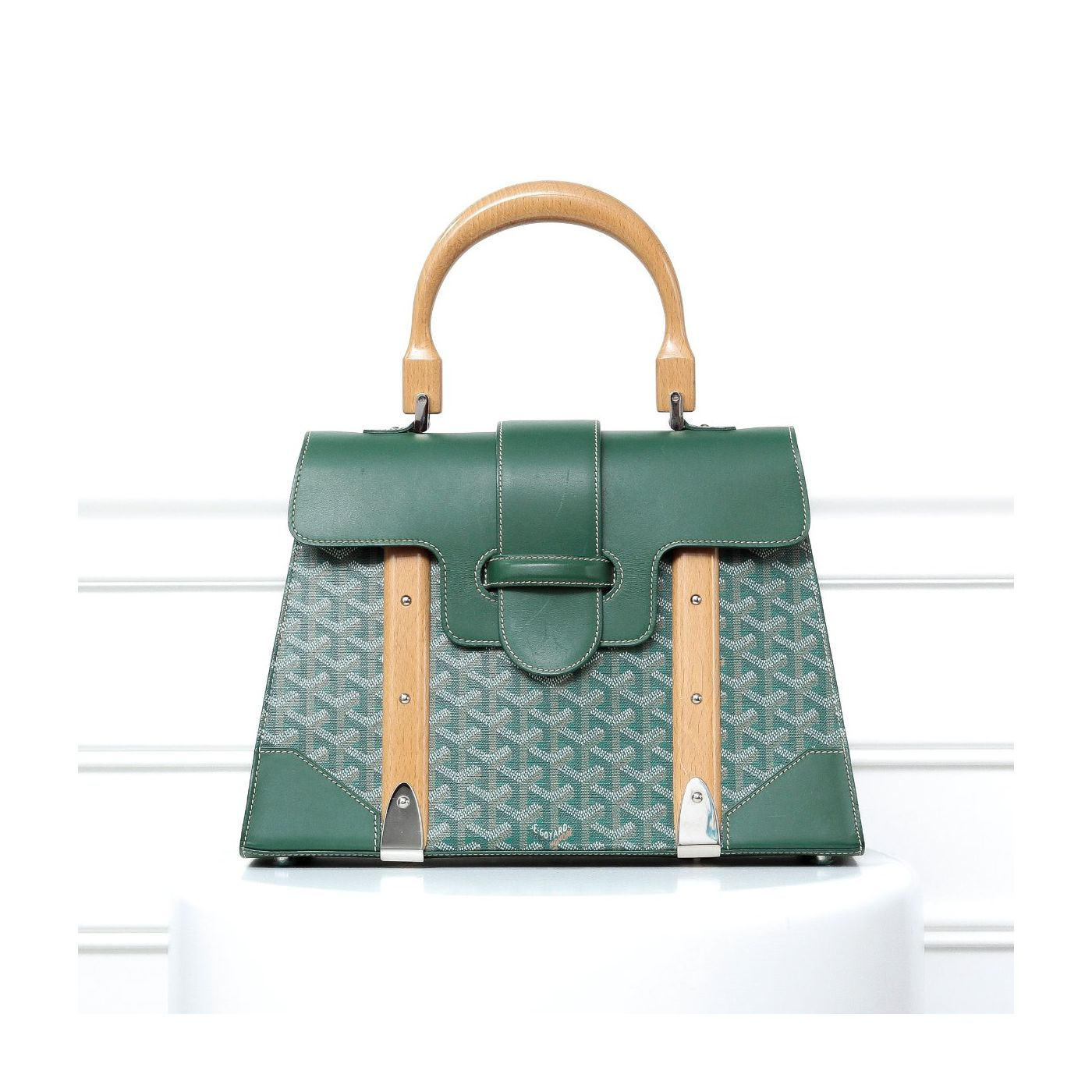 Goyard Green Saigon Bag MM