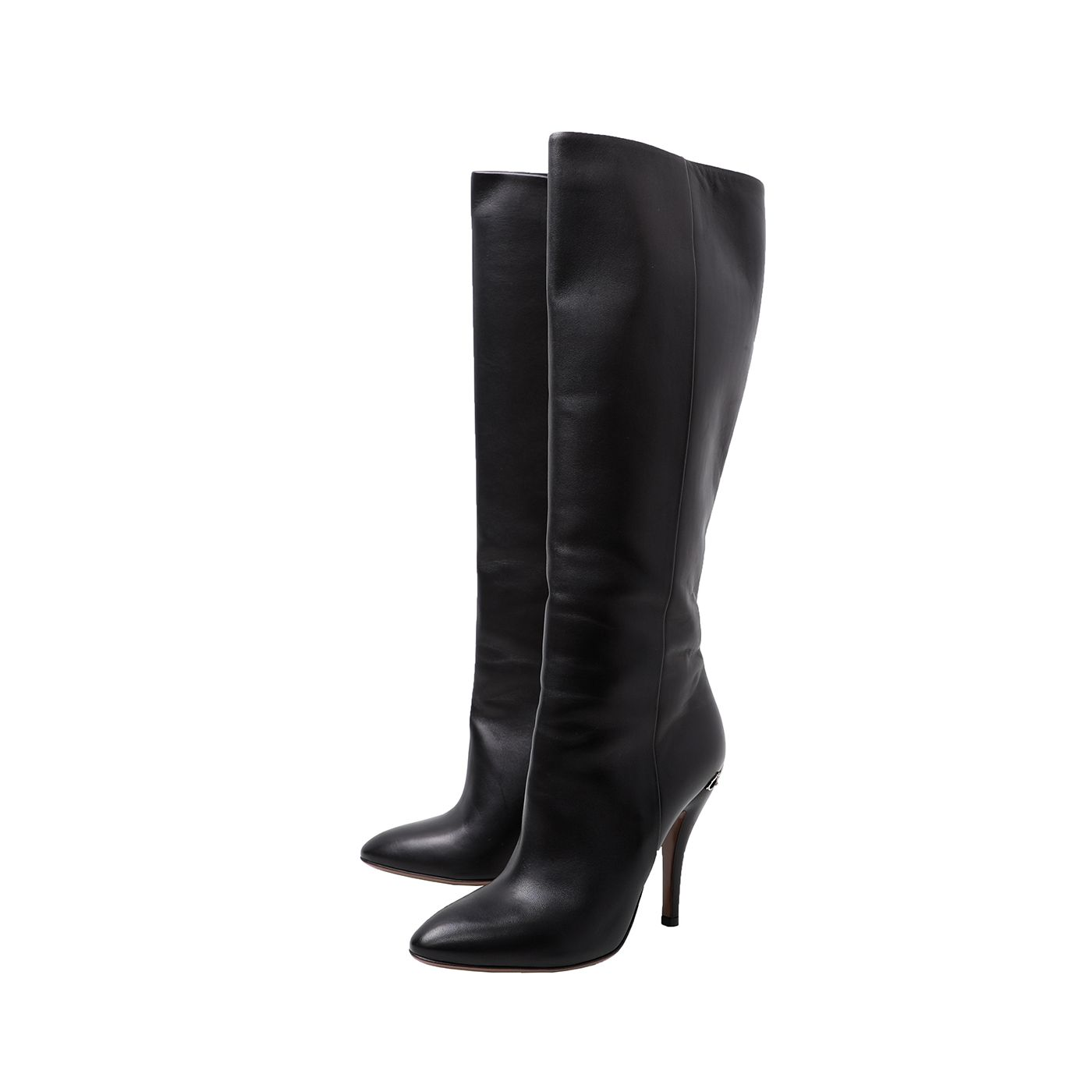 Gucci Black Adina Knee High Boots 38.5