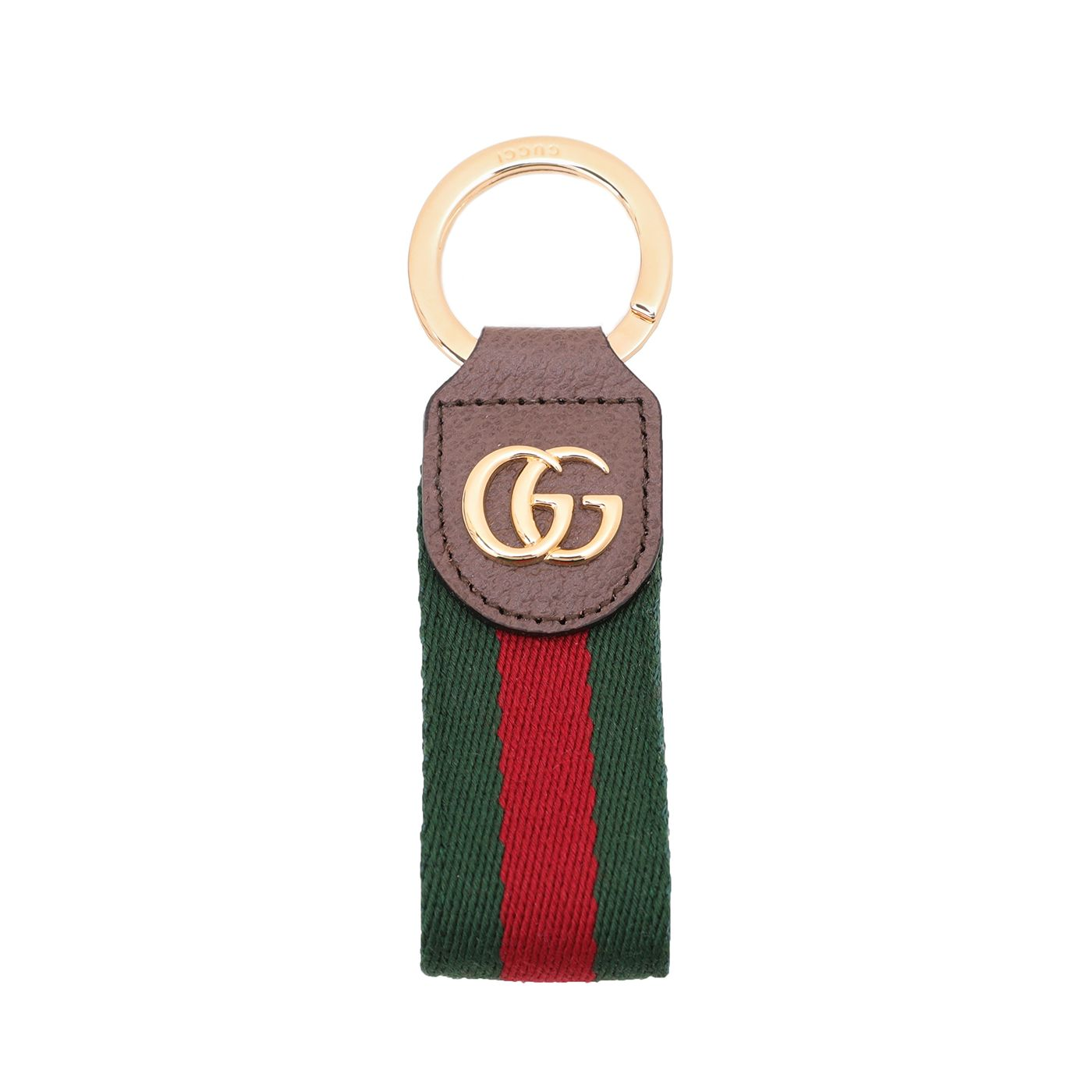Gucci Tricolor Ophidia Keychain