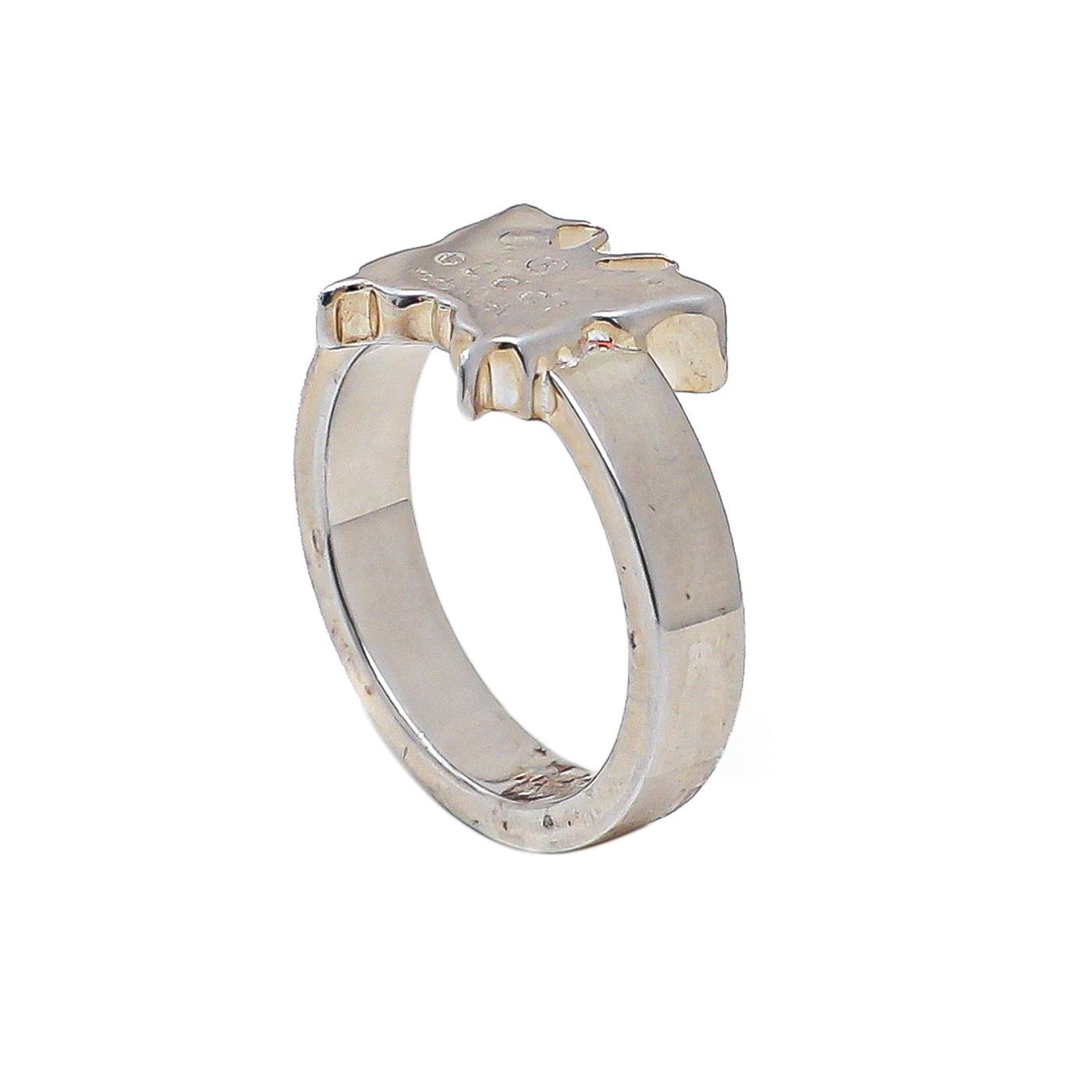 Gucci Silver Butterfly Ring