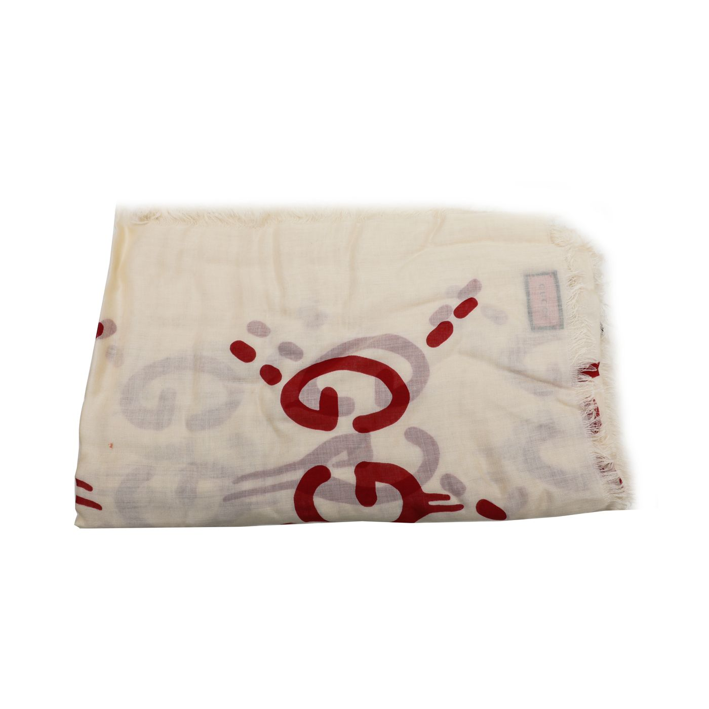 Gucci Bicolor GG Ghost Large Stole Scarf