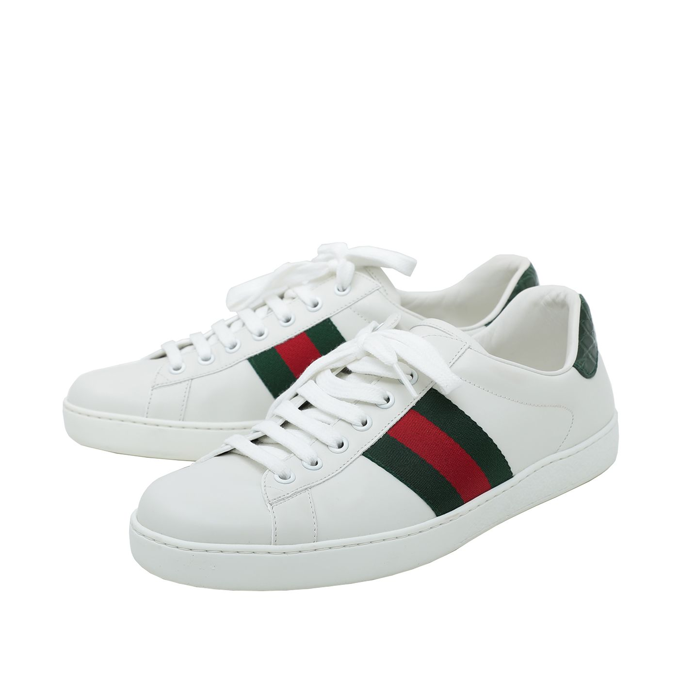 Gucci White Men's Ace Sneaker