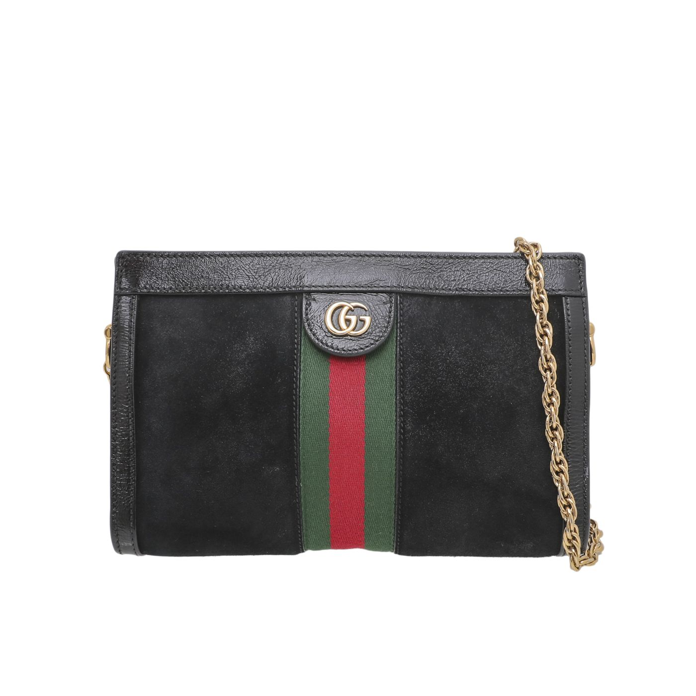 Gucci Tricolor Ophidia GG Shoulder Bag Small