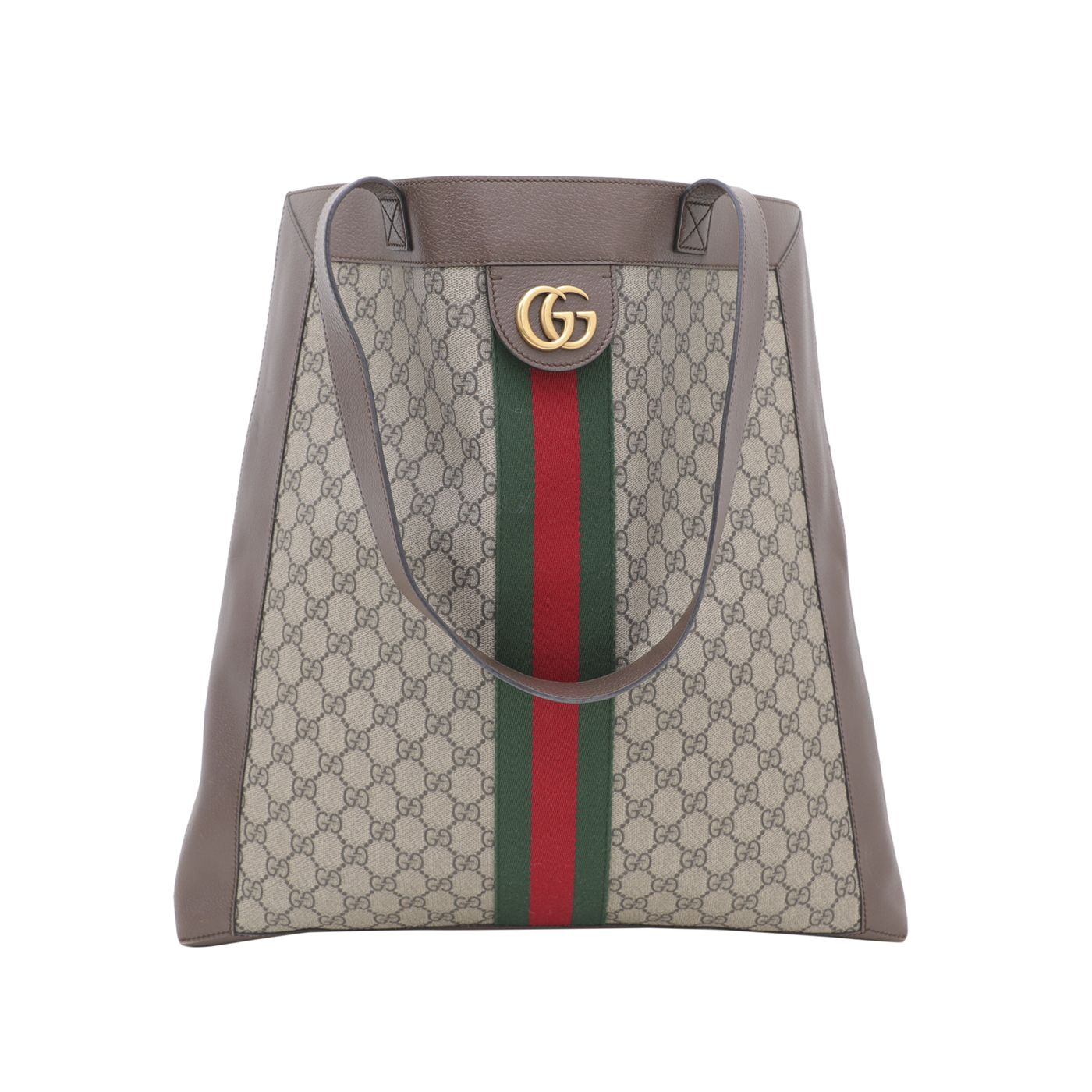 Gucci Tricolor Soft GG Supreme Ophidia Large Tote Bag