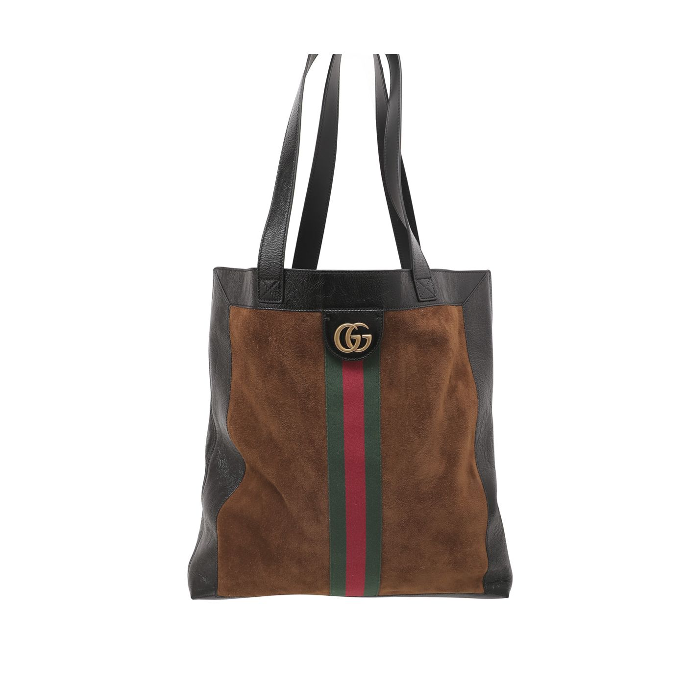 Gucci Bicolor Ophidia Vertical Shopping Tote Bag