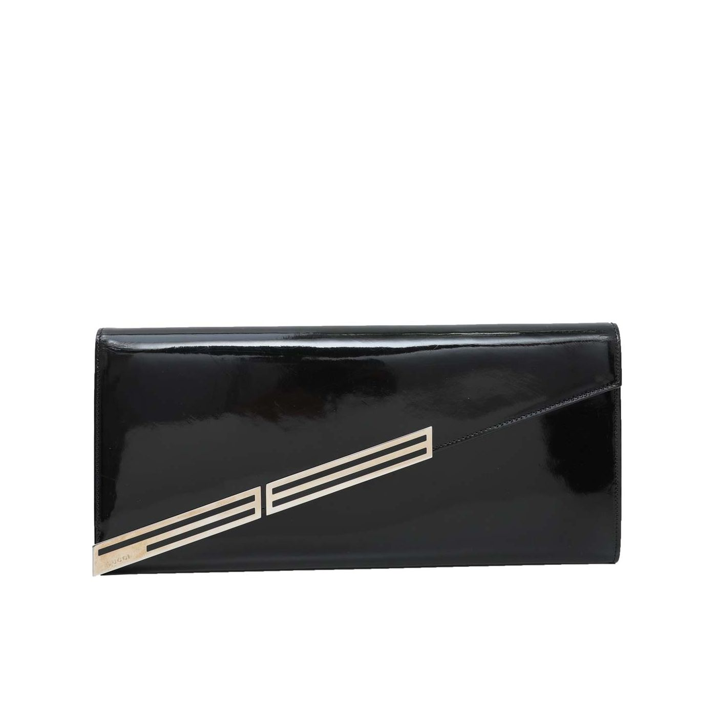 Gucci Black Sigrid Oversized Clutch