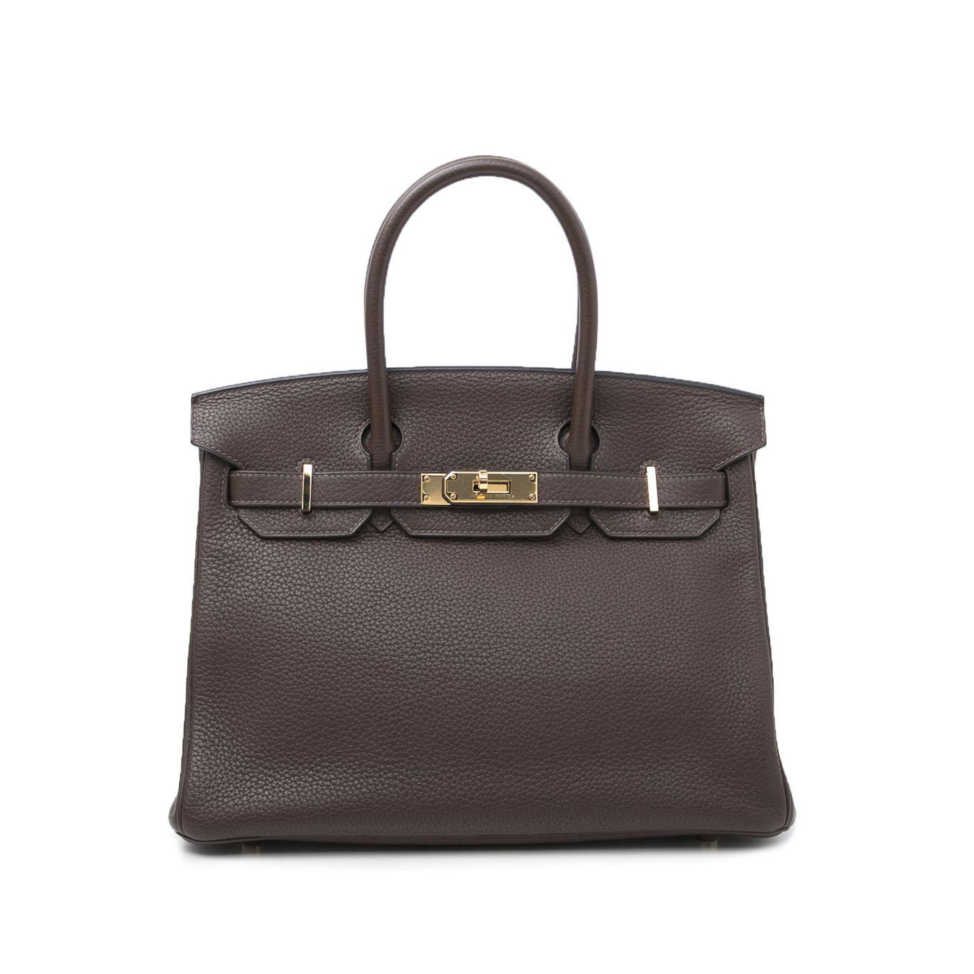Hermes Chocolate Birkin 30 Bag