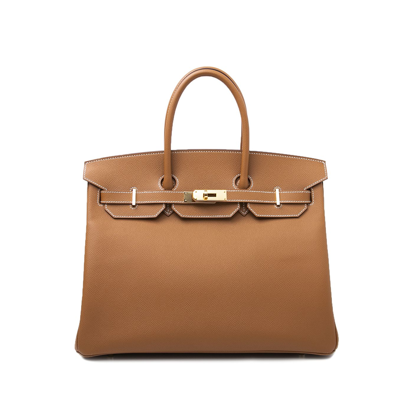 Hermes Gold Birkin Bag 35