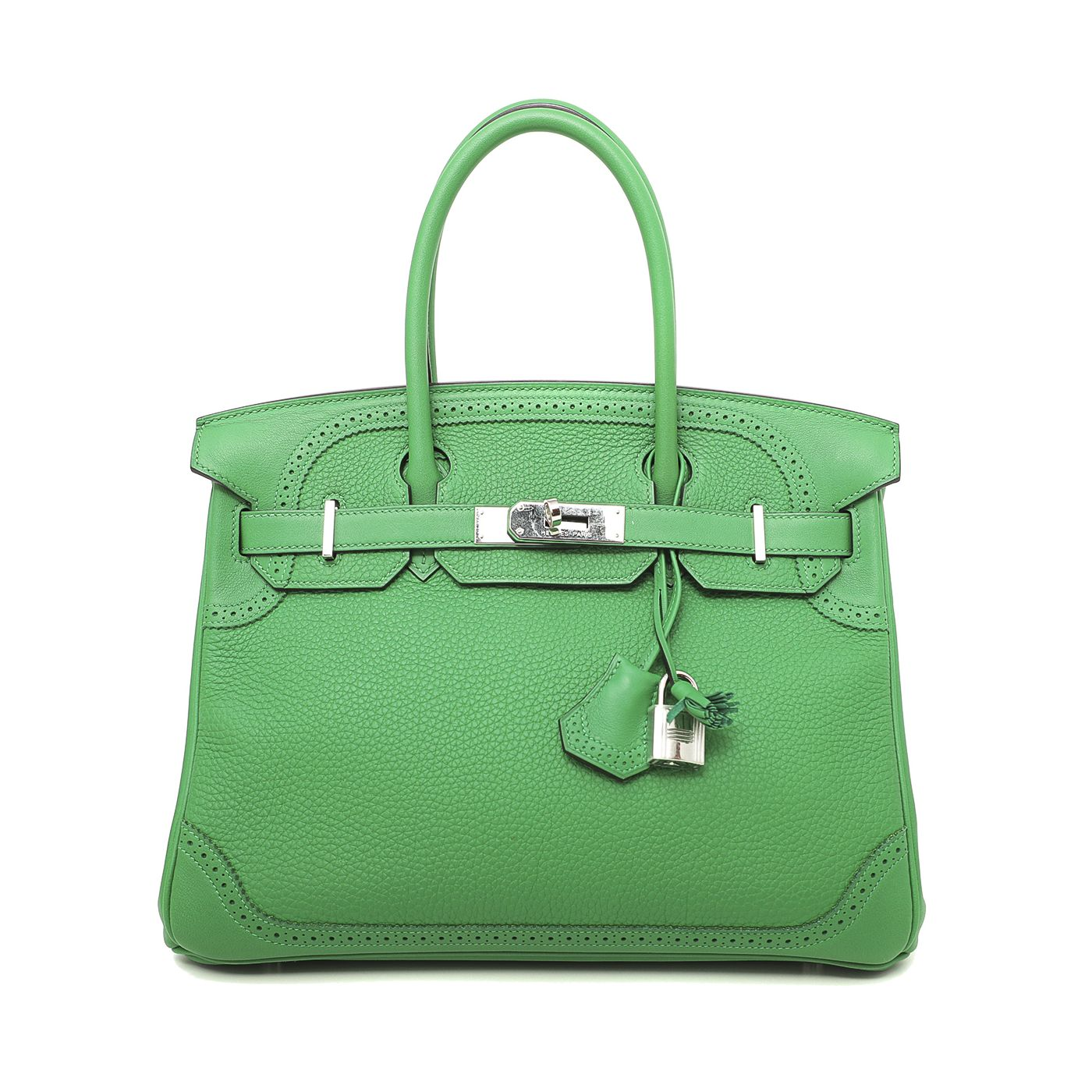 Hermes Bamboo Birkin Ghillies 30 Limited