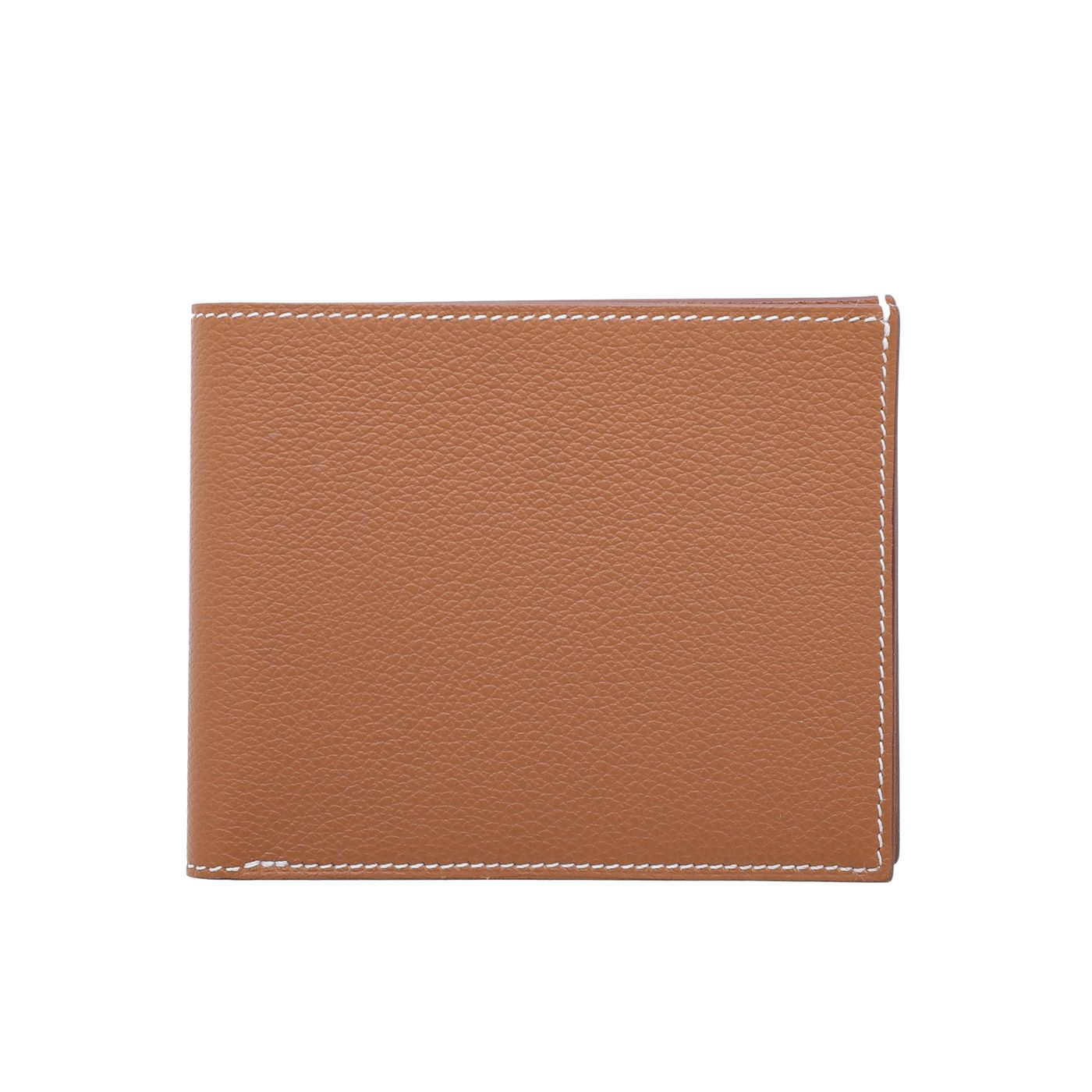 Hermes Gold Citizen Twill Evercolor Compact Wallet
