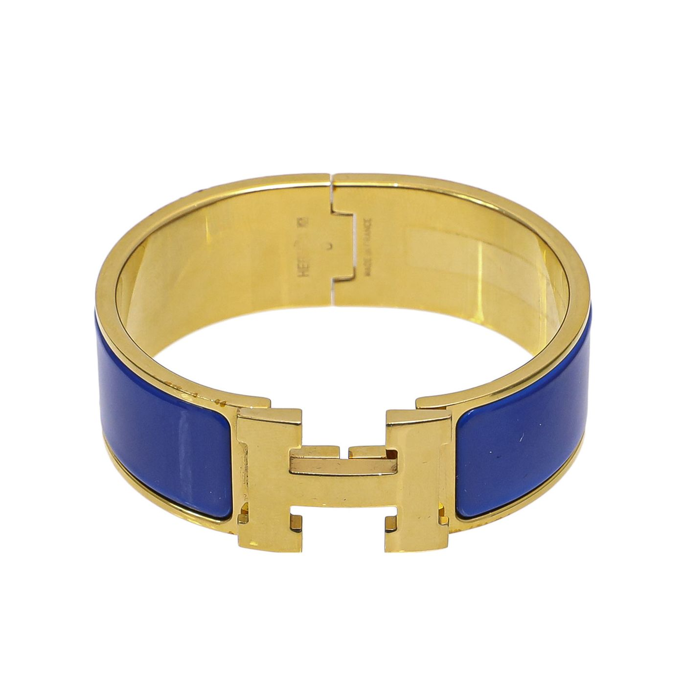 Hermes Clic Clac Blue Bangle