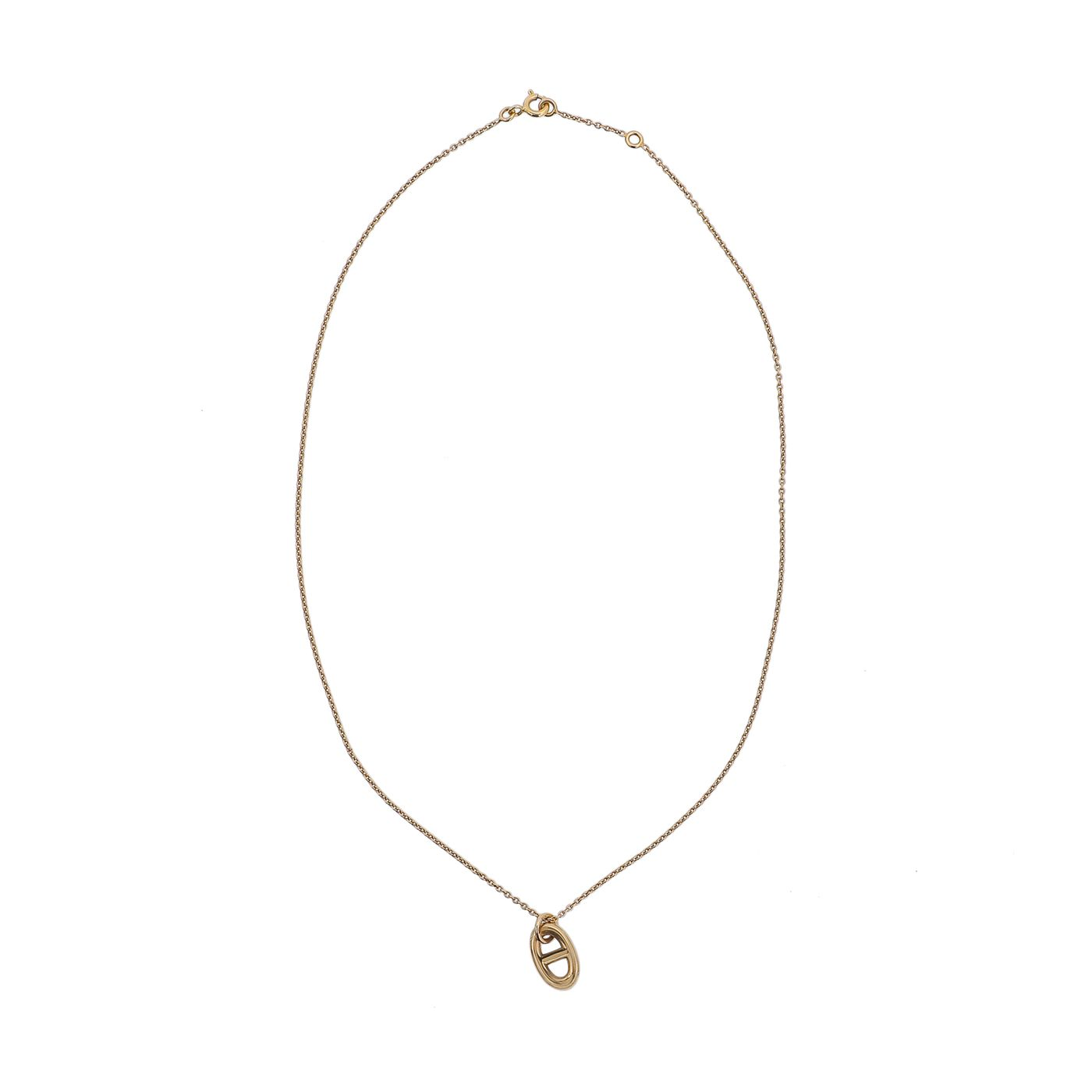 Hermes 18K Rose Gold Farandole Pendant Necklace