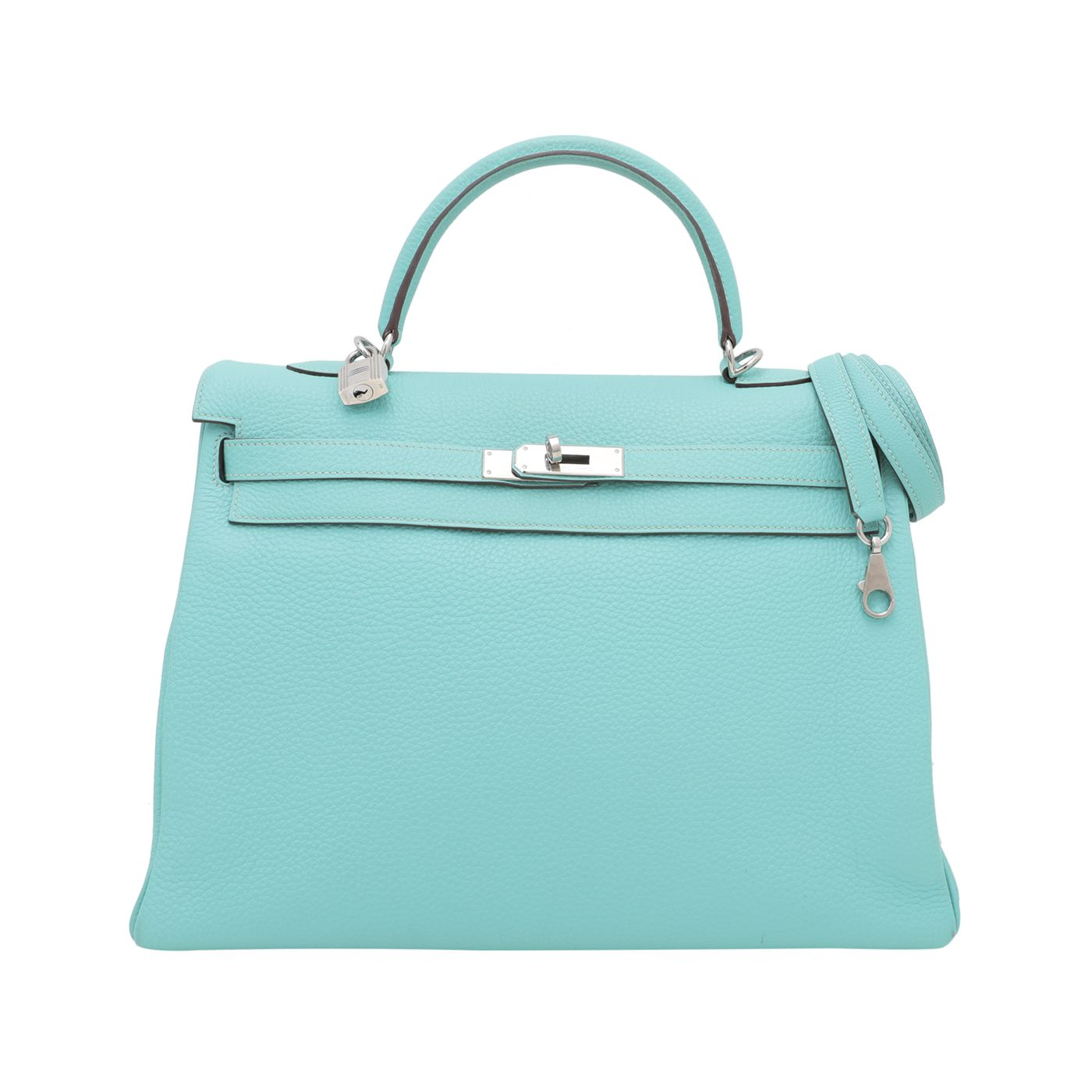 Hermes Lagoon Togo Kelly 35 Bag
