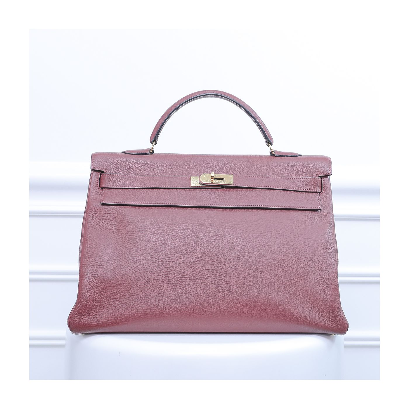 Hermes Rouge Grenat Kelly 40