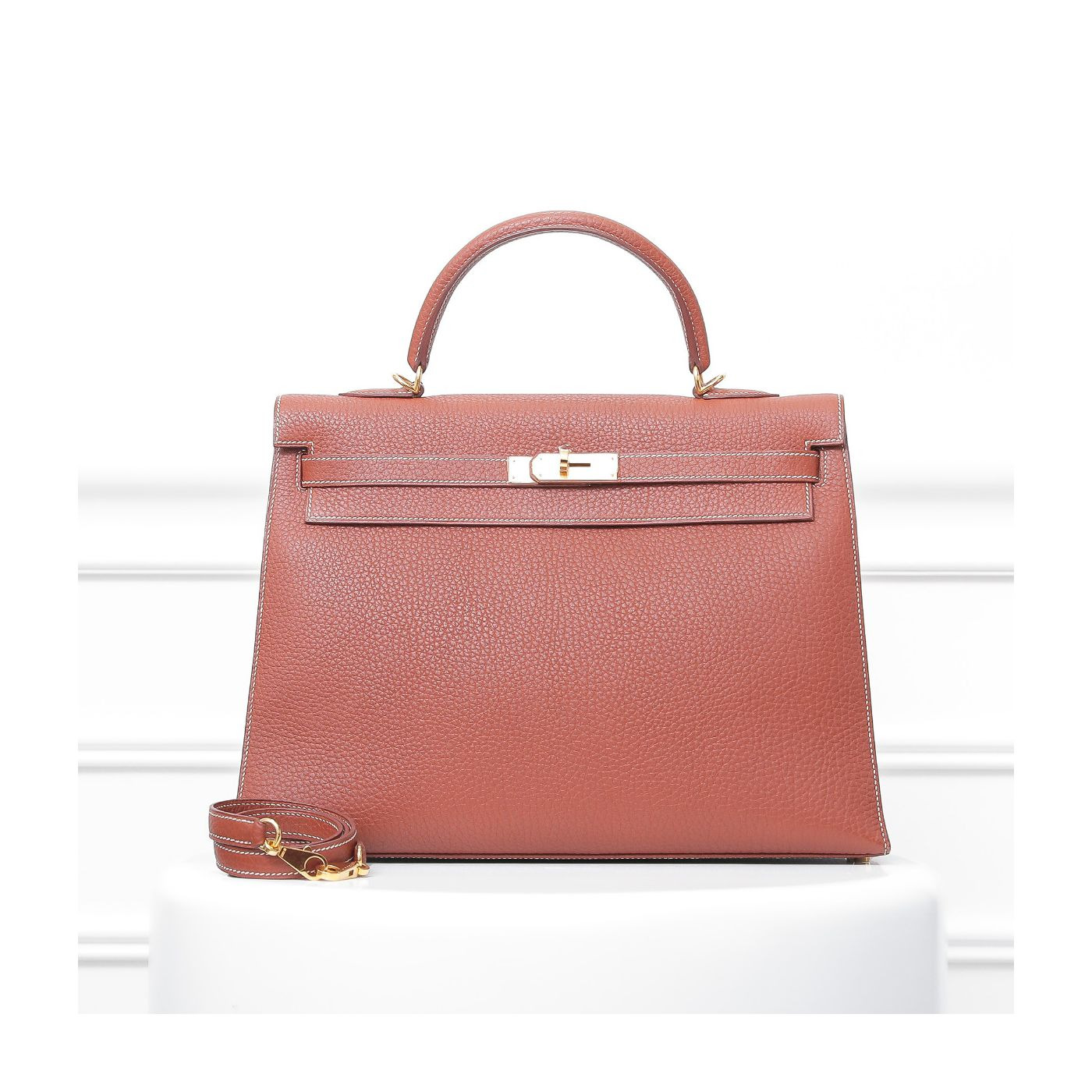 Hermes Brique Fjord Kelly Sellier 35