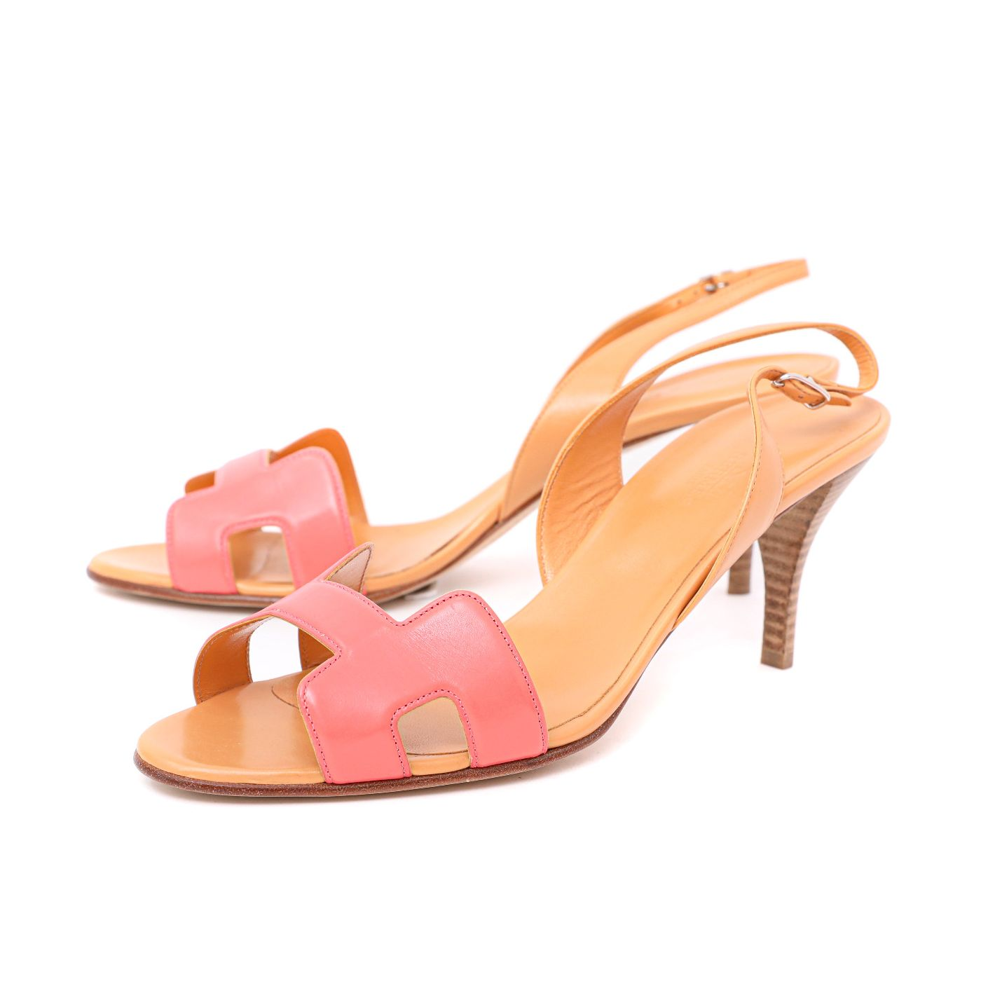 Hermes Bicolor Night 70 Sandals 41