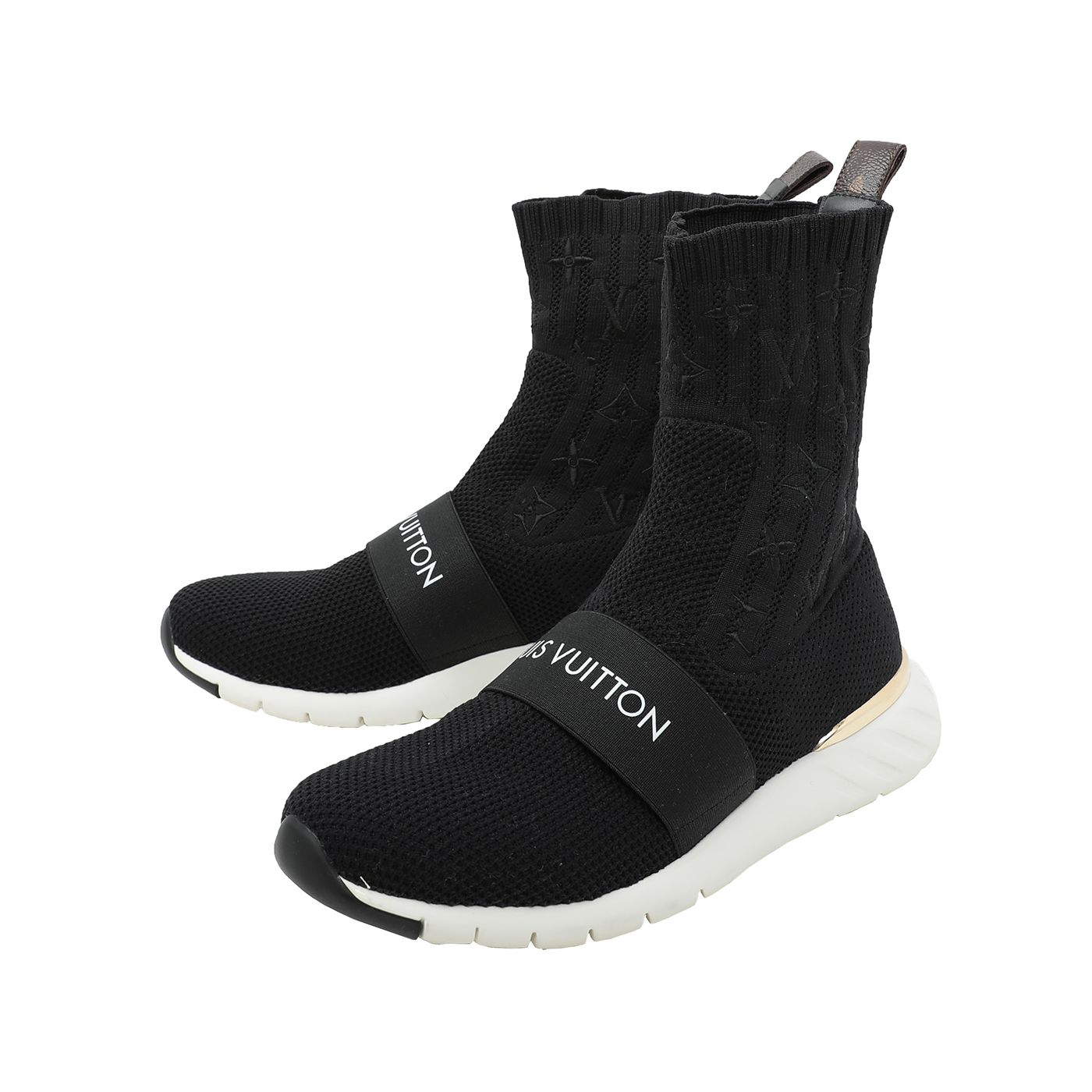Louis Vuitton Black Aftergame Sneakers Boots 37