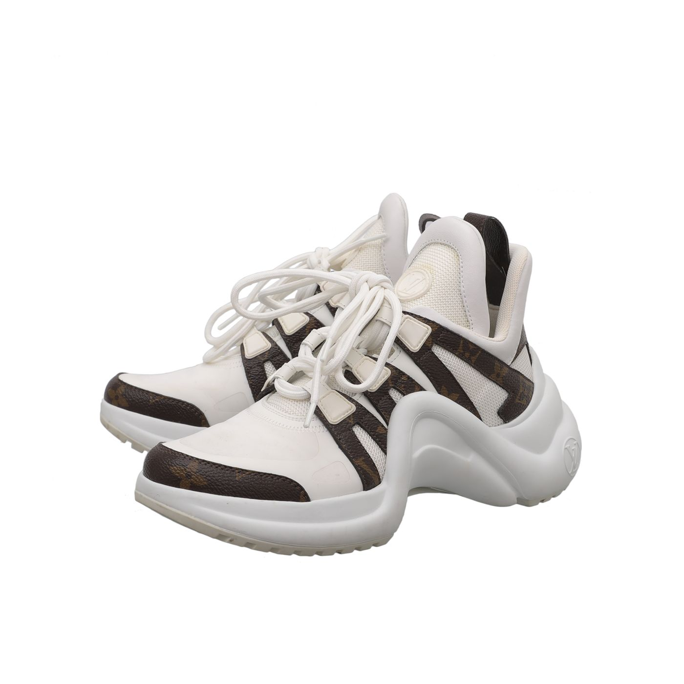 Louis Vuitton Bicolor Archlight Trainer Sneakers 36.5