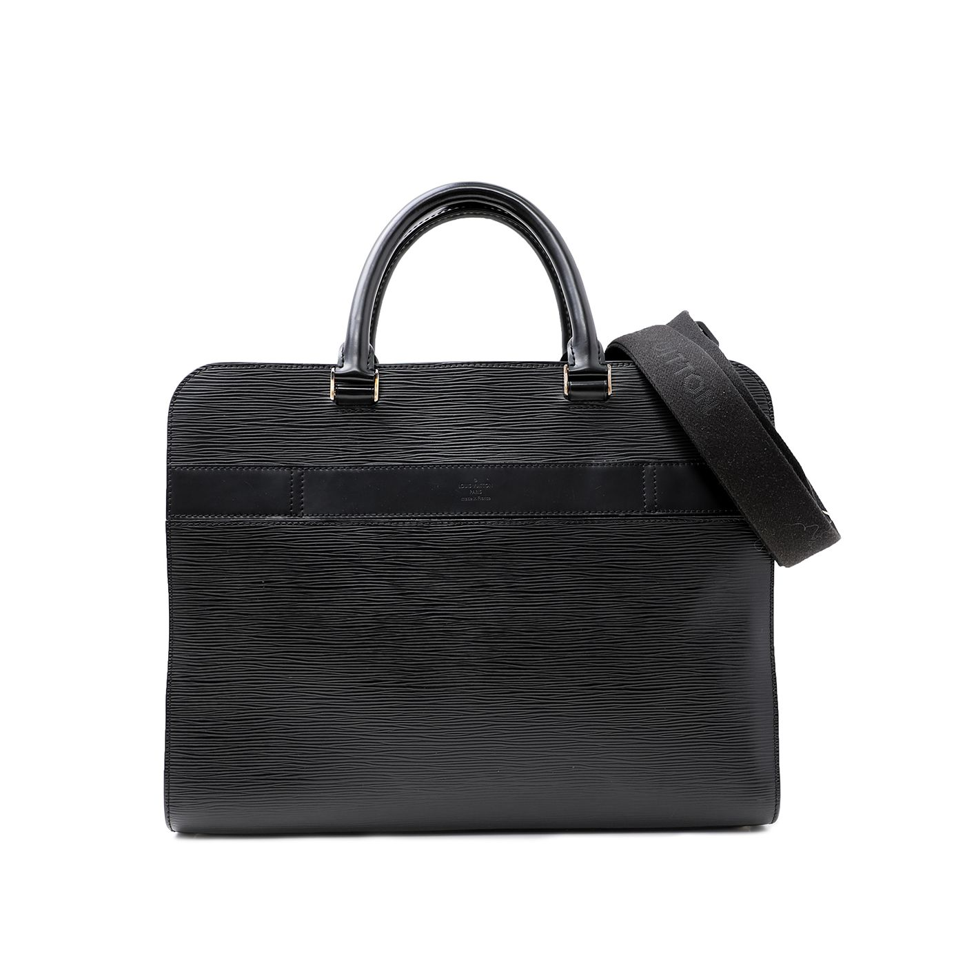 Louis Vuitton Noir Bassano Bag
